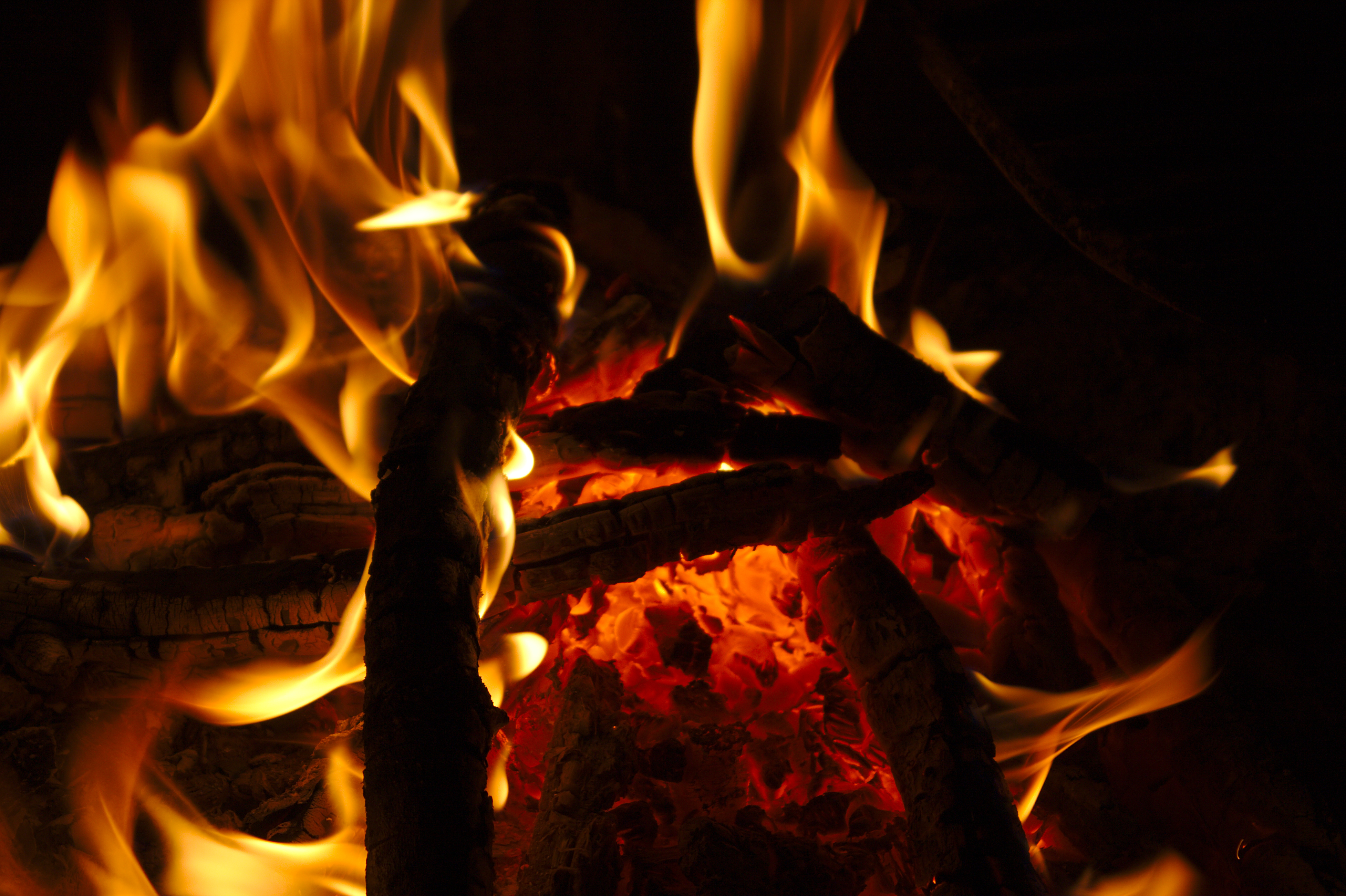 74874 Screensavers and Wallpapers Firewood for phone. Download Fire, Bonfire, Coals, Dark, Flame, Firewood pictures for free