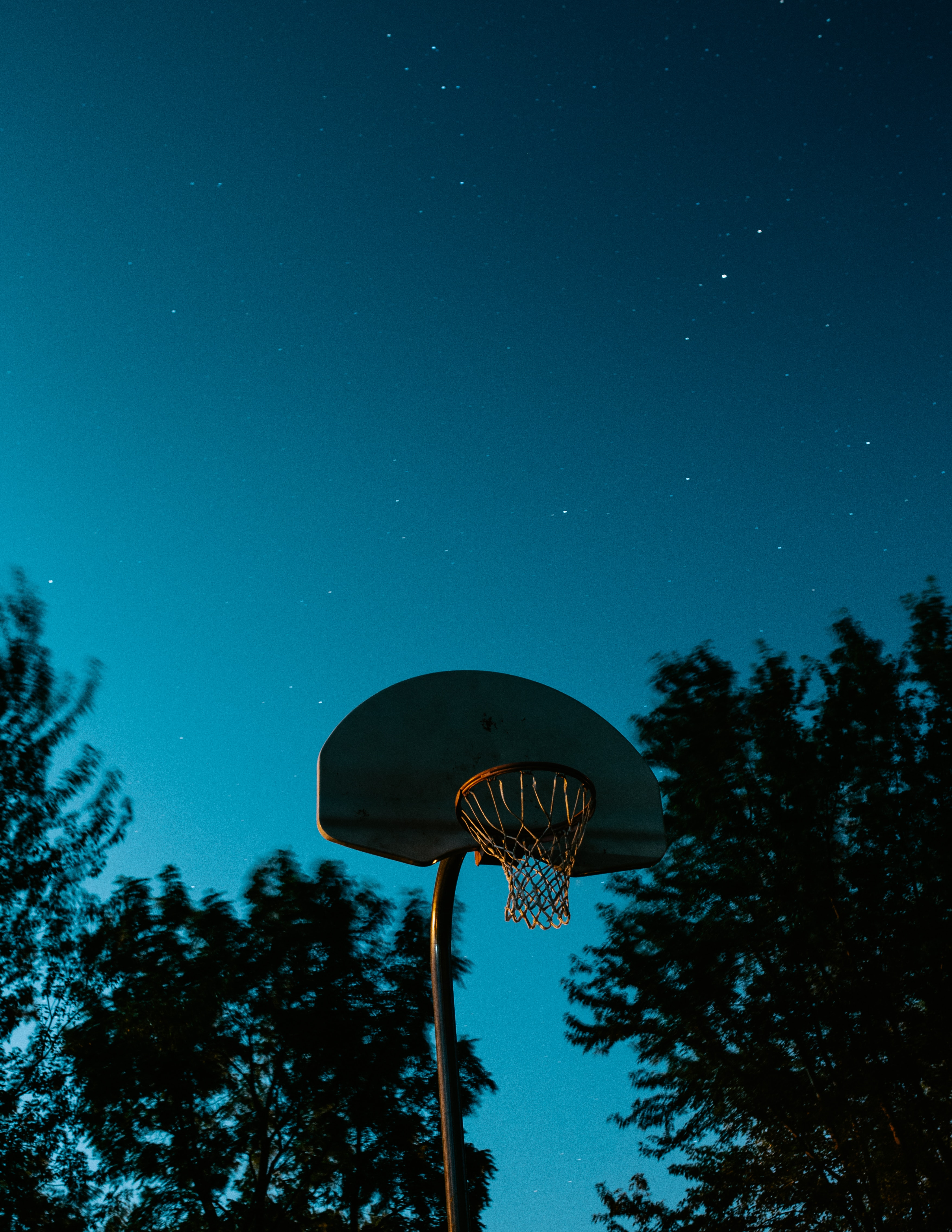 84423 Screensavers and Wallpapers Basketball for phone. Download Sports, Basketball Hoop, Basketball Ring, Basketball, Basket, Starry Sky, Dark pictures for free