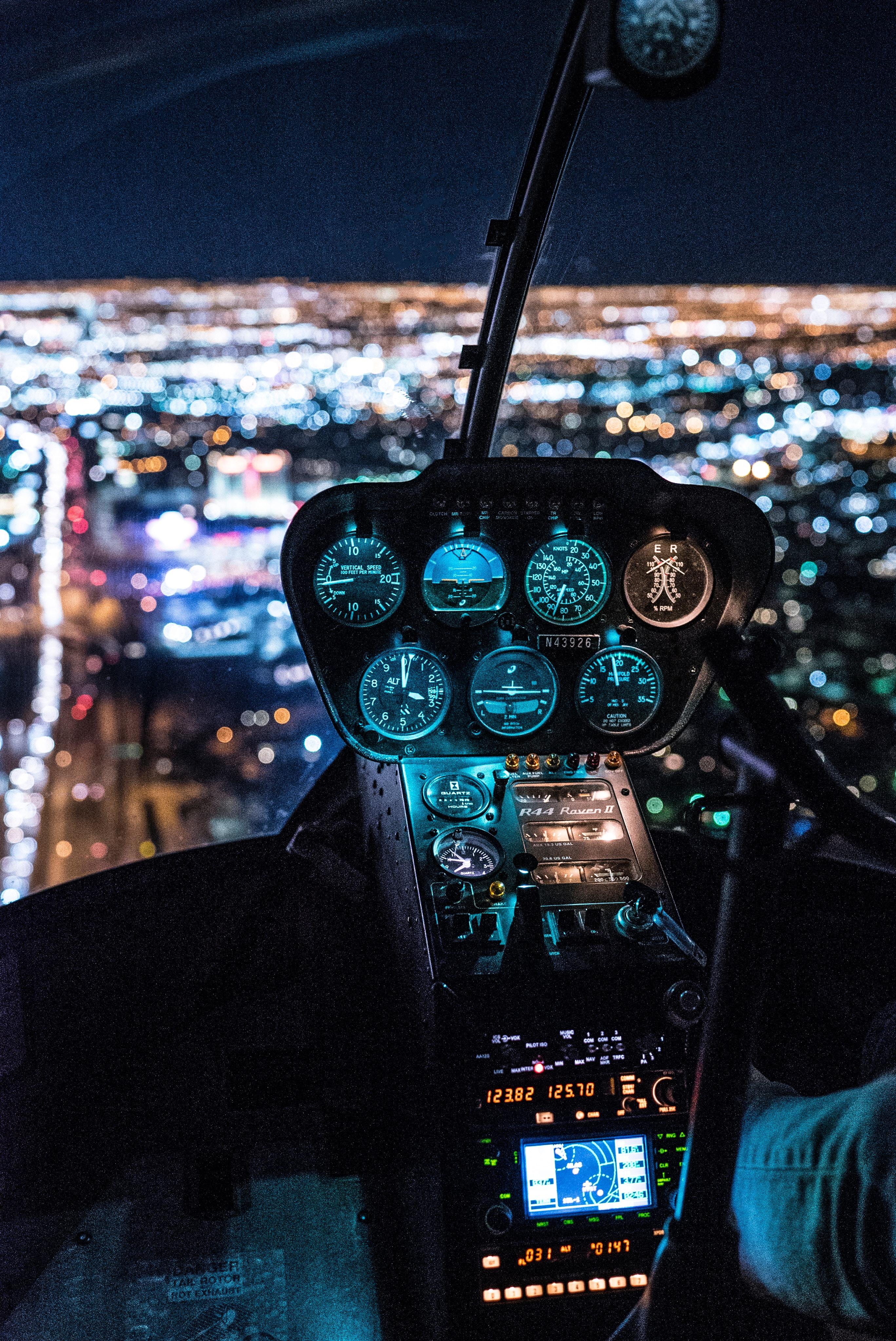 69864 Hintergrundbild herunterladen Hubschrauber, Verschiedenes, Sonstige, Cockpit, Steuerung, Management - Bildschirmschoner und Bilder kostenlos