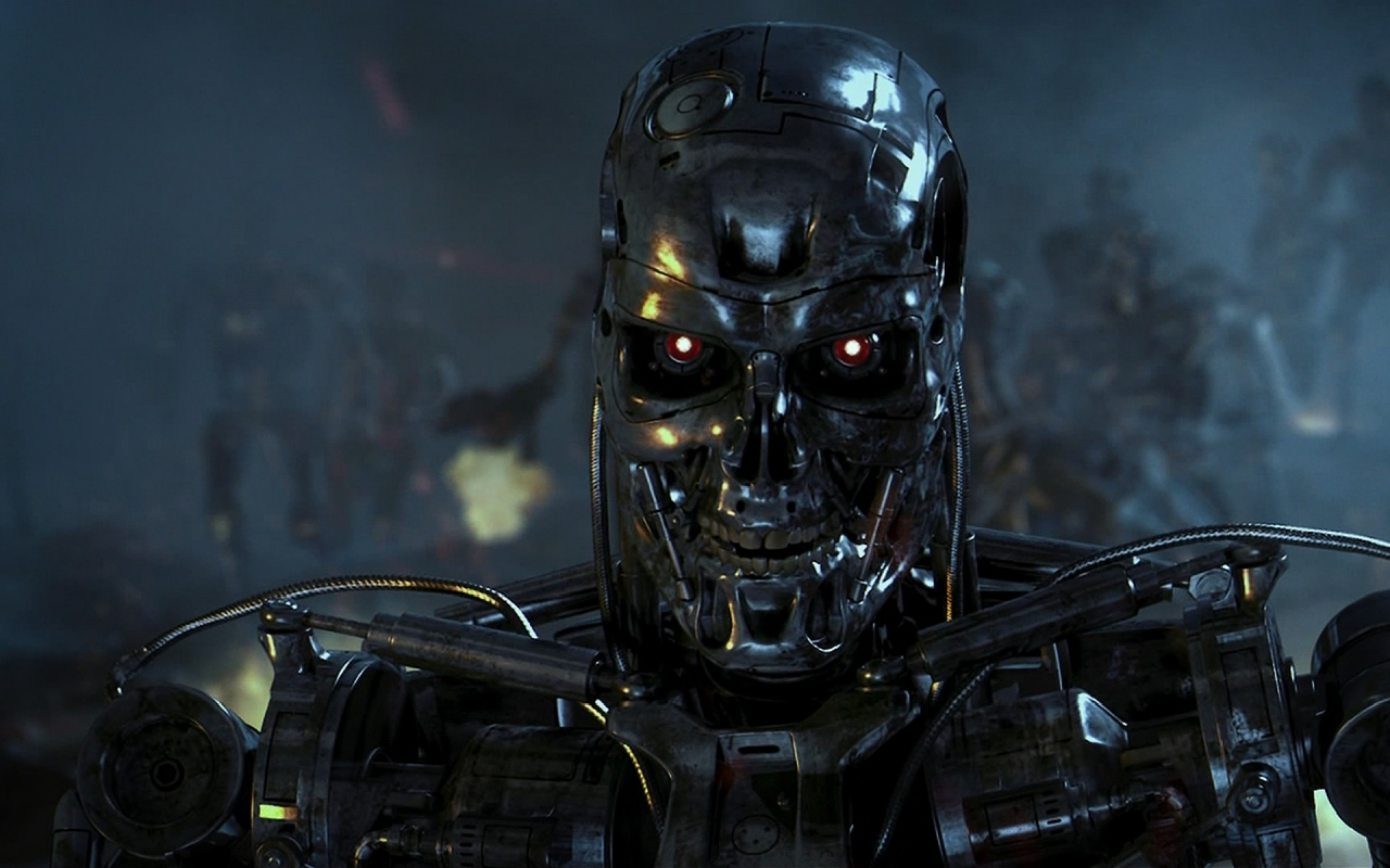 8224 Screensavers and Wallpapers Robots for phone. Download Cinema, Robots, Terminator pictures for free