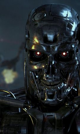 8224 download wallpaper Cinema, Robots, Terminator screensavers and pictures for free