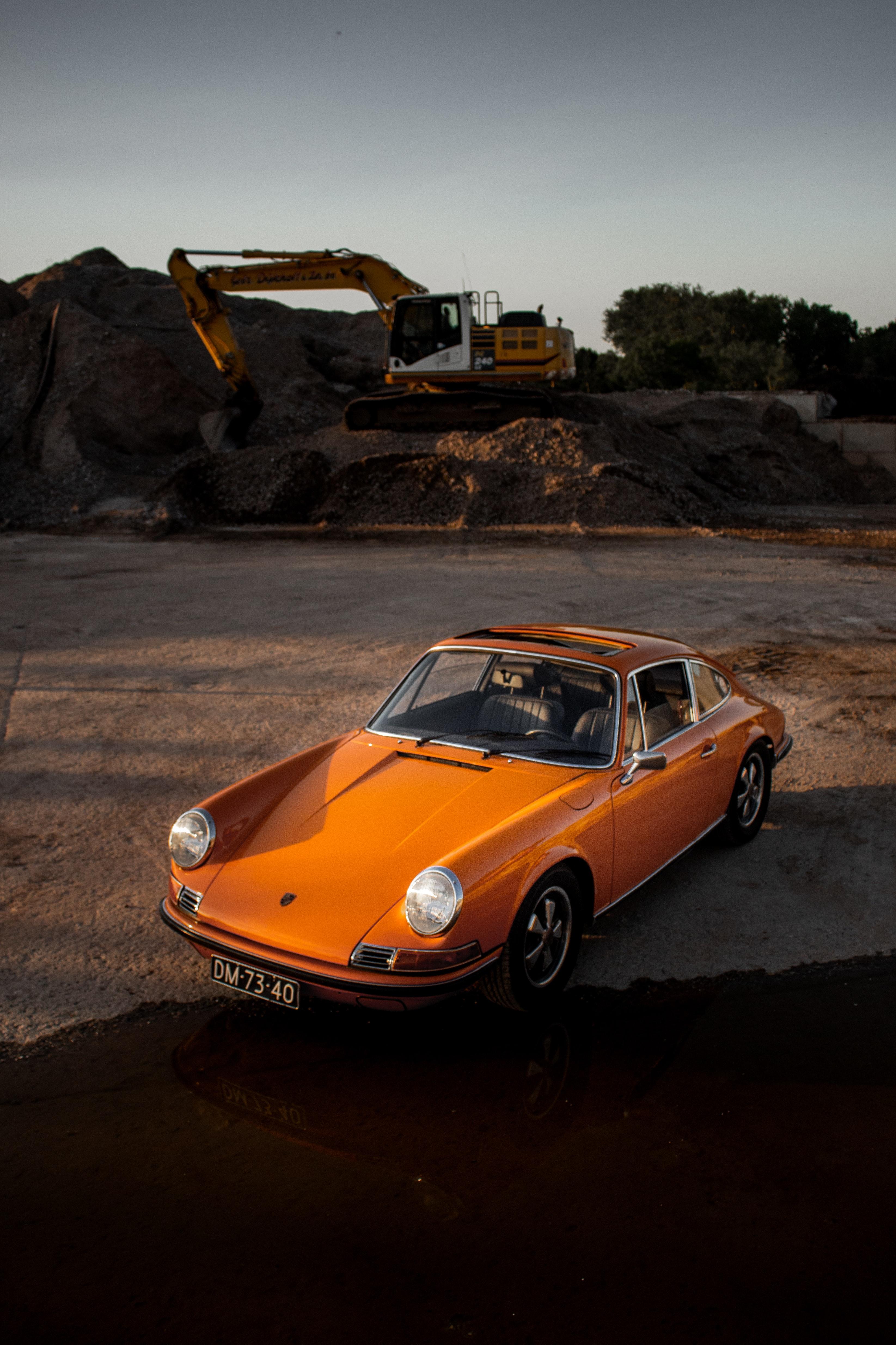 61724 Заставки и Обои Порш (Porsche) на телефон. Скачать Порш (Porsche), Тачки (Cars), Автомобиль, Желтый, Ретро картинки бесплатно