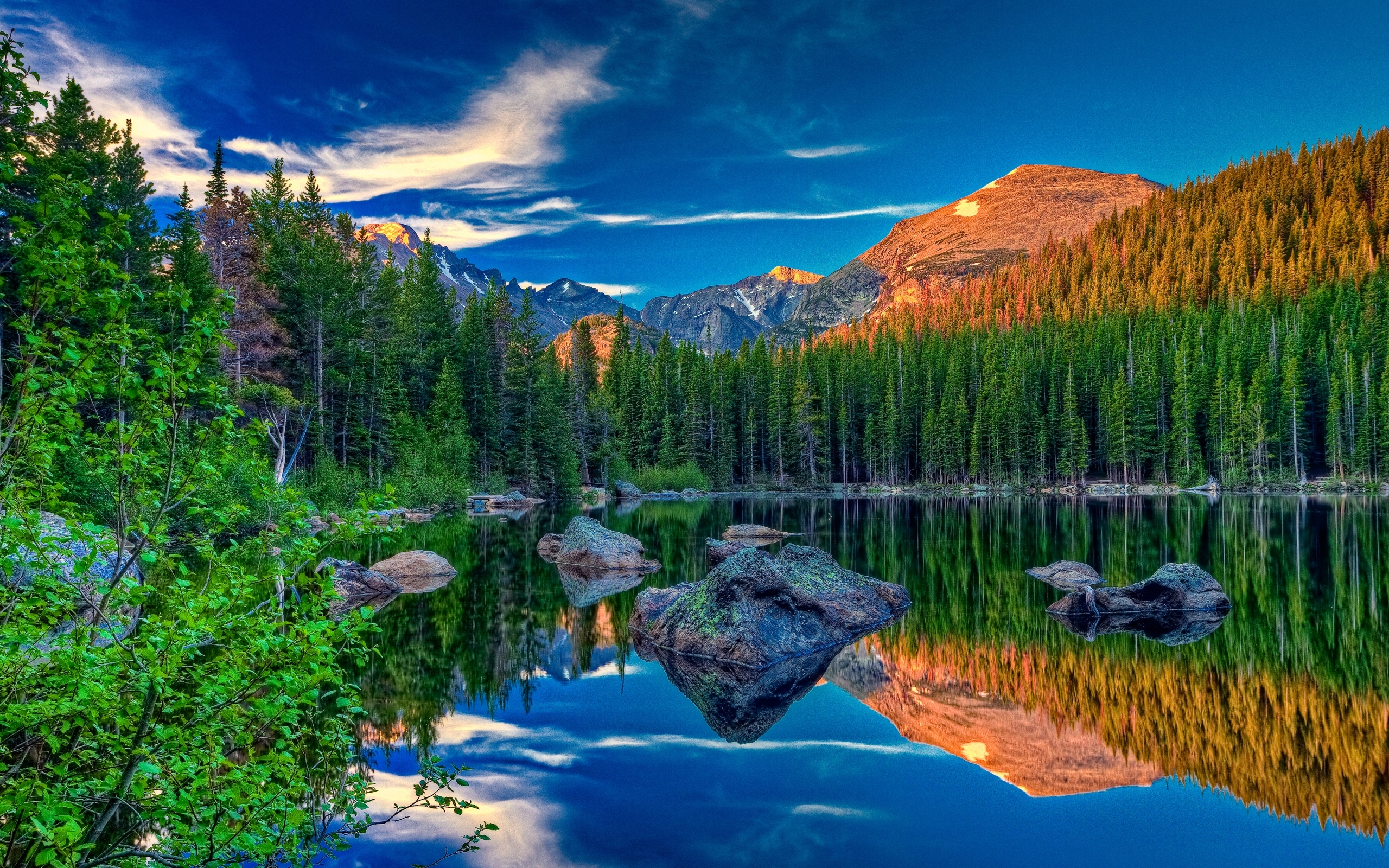30590 Заставки и Обои Озера на телефон. Скачать Озера, Пейзаж, Горы картинки бесплатно