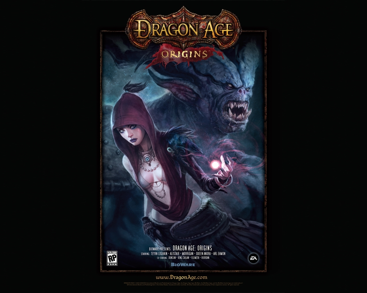 240 download wallpaper Games, Dragon Age: Origins screensavers and pictures for free