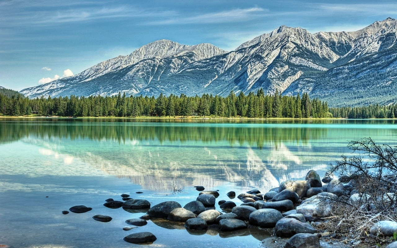 48706 download wallpaper Landscape, Nature, Mountains, Lakes screensavers and pictures for free