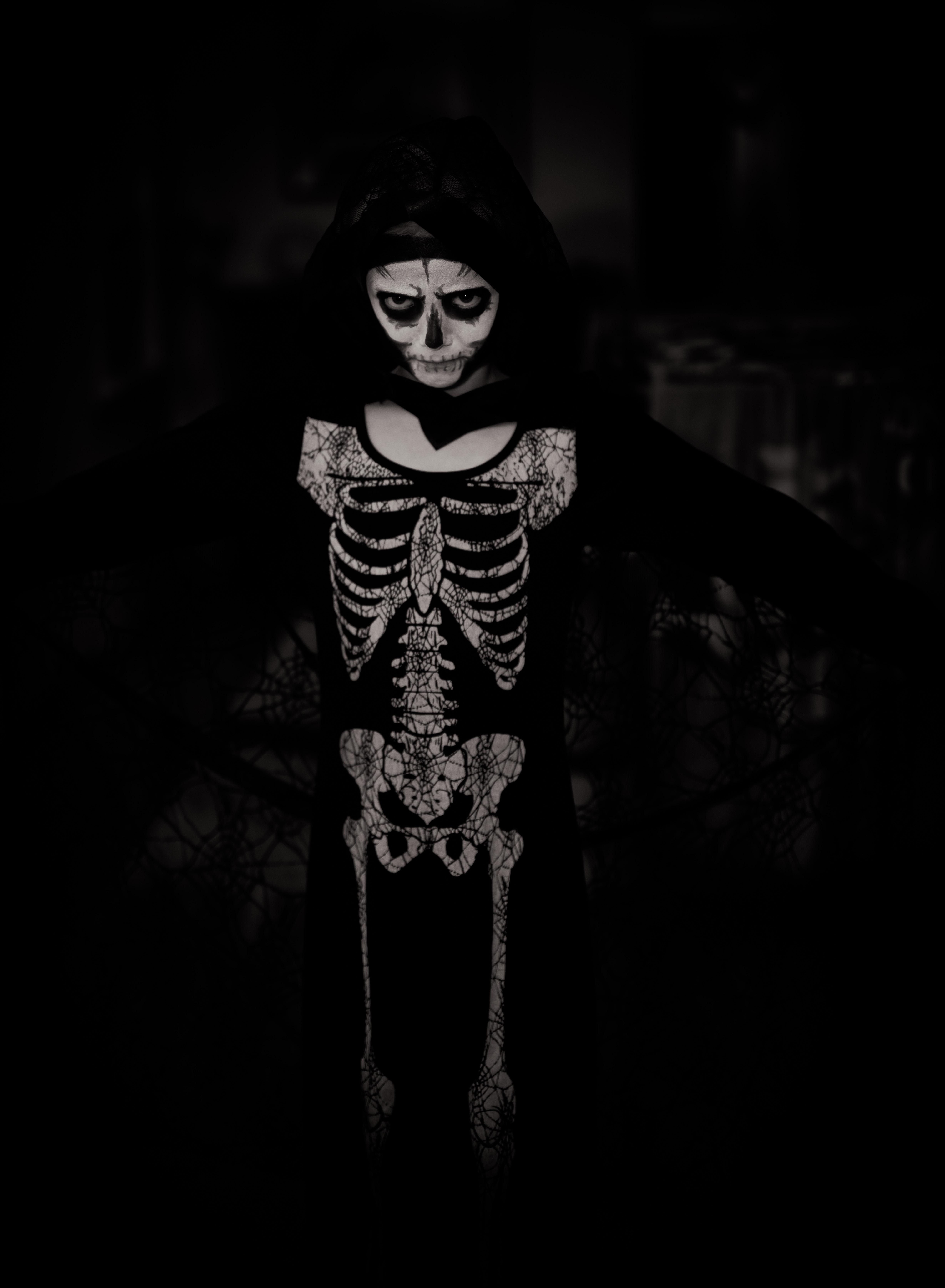 114392 fond d'écran 1080x1920 sur votre téléphone gratuitement, téléchargez des images Halloween, Fêtes, P.c., Chb, Squelette, Costume 1080x1920 sur votre mobile