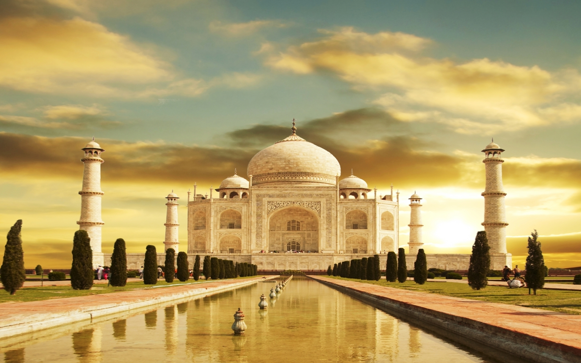 9471 скачать обои Пейзаж, Архитектура, Тадж Махал (Taj Mahal) - заставки и картинки бесплатно