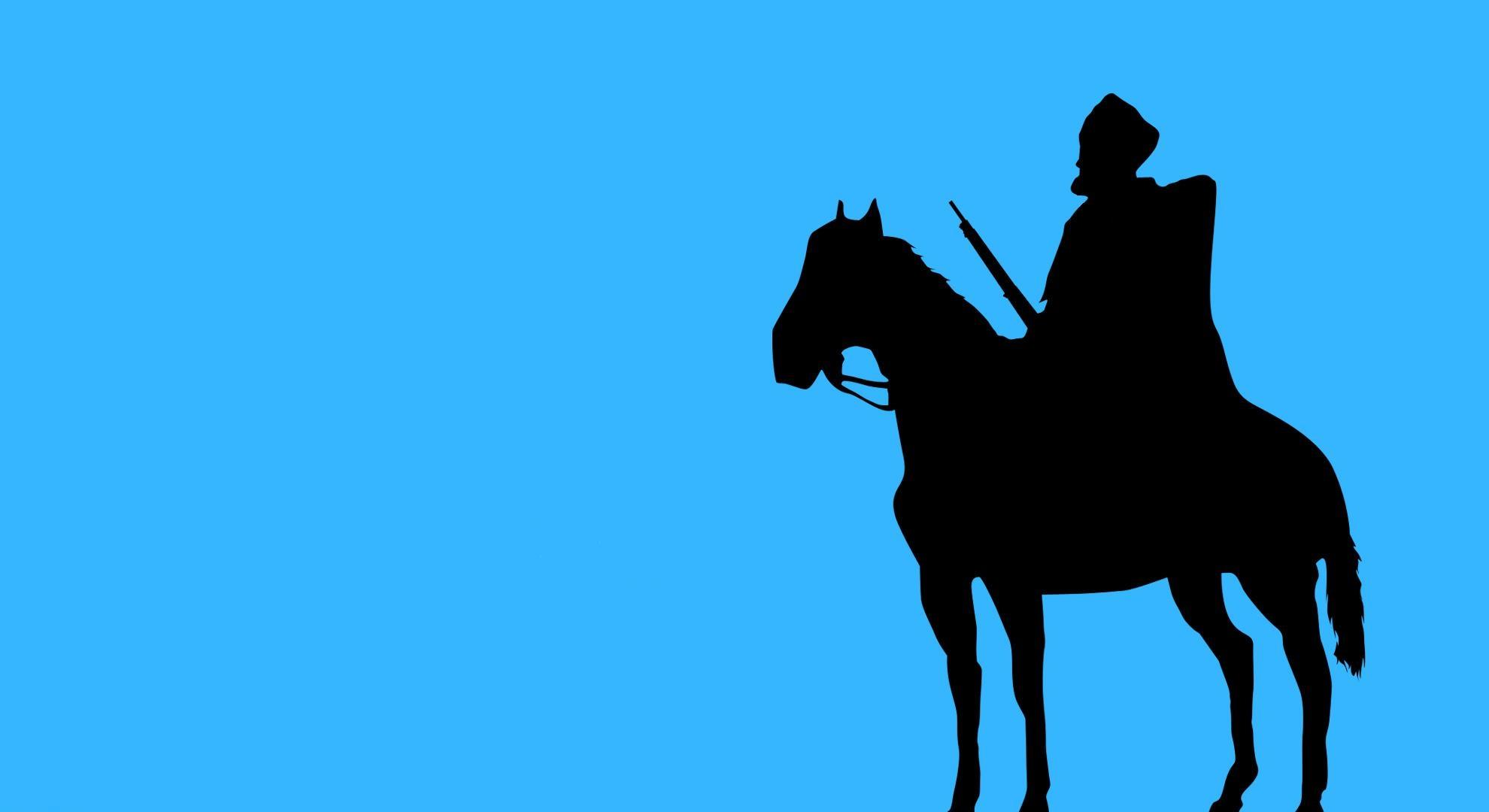 81189 baixar papel de parede Guerra, Vetor, Boné, Cavalo, Equipamento, Traje, Cáucaso, Papakha, Papaha - protetores de tela e imagens gratuitamente