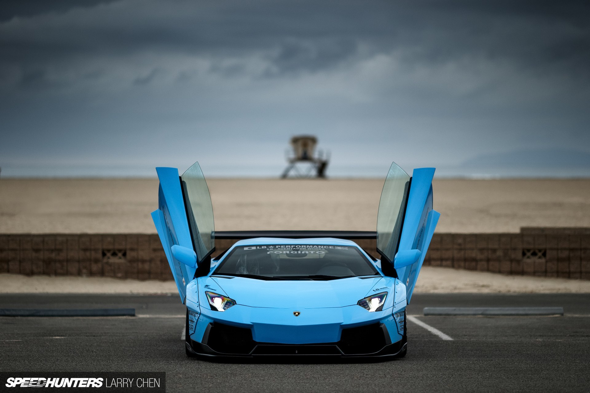 120402 Заставки и Обои Ламборджини (Lamborghini) на телефон. Скачать Ламборджини (Lamborghini), Тачки (Cars), Голубой, Вид Спереди, Aventador картинки бесплатно