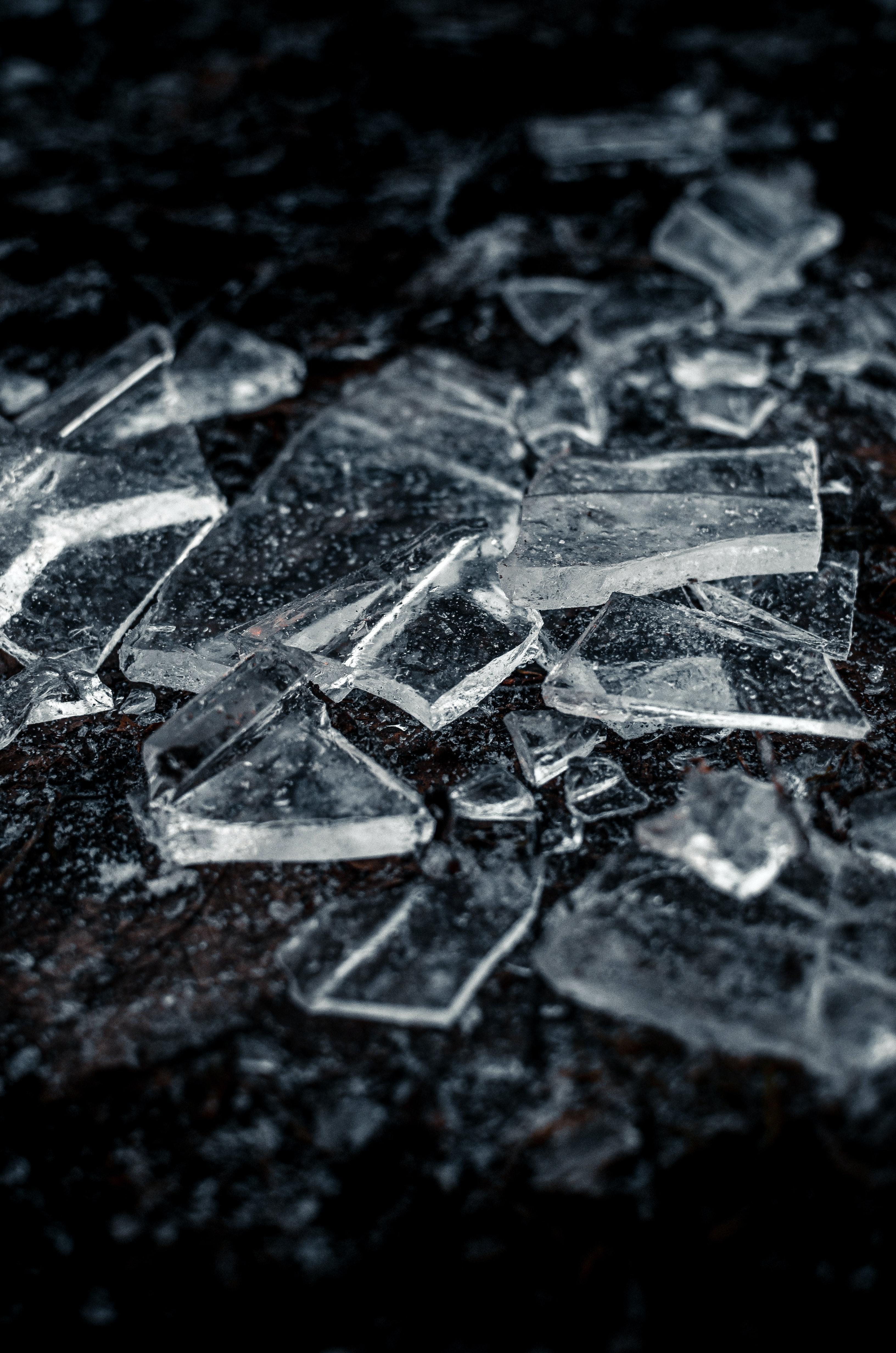 137609 Заставки и Обои Лед на телефон. Скачать Лед, Макро, Прозрачный, Осколки картинки бесплатно