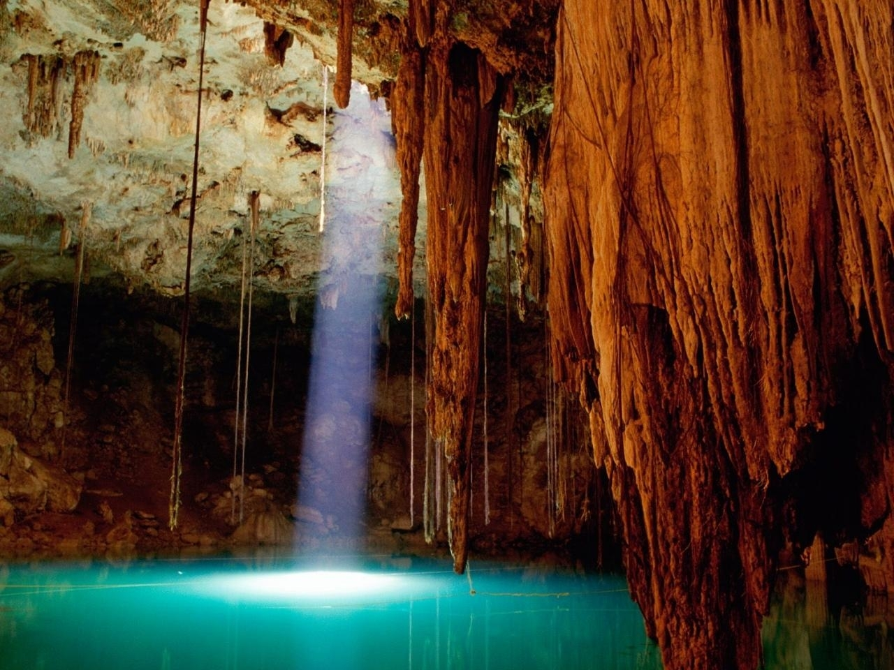 48748 download wallpaper Landscape, Nature, Caves screensavers and pictures for free