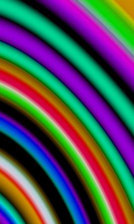 55178 télécharger le fond d'écran Abstrait, Rayures, Stries, Multicolore, Hétéroclite, Flou, Lisse - économiseurs d'écran et images gratuitement