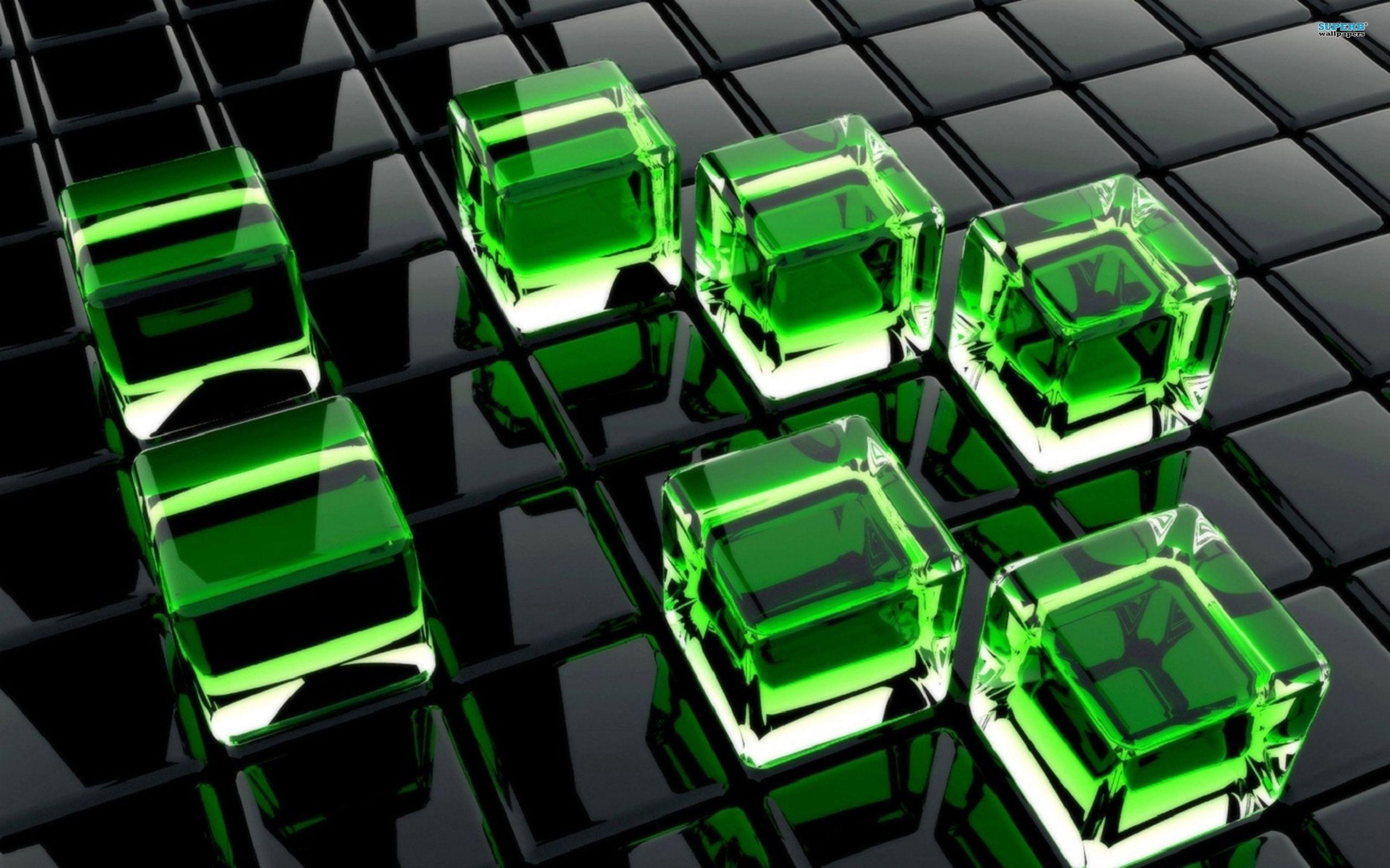 121645 descarga Verde fondos de pantalla para tu teléfono gratis, 3D, Cuba, Vidrio, Superficie Verde imágenes y protectores de pantalla para tu teléfono