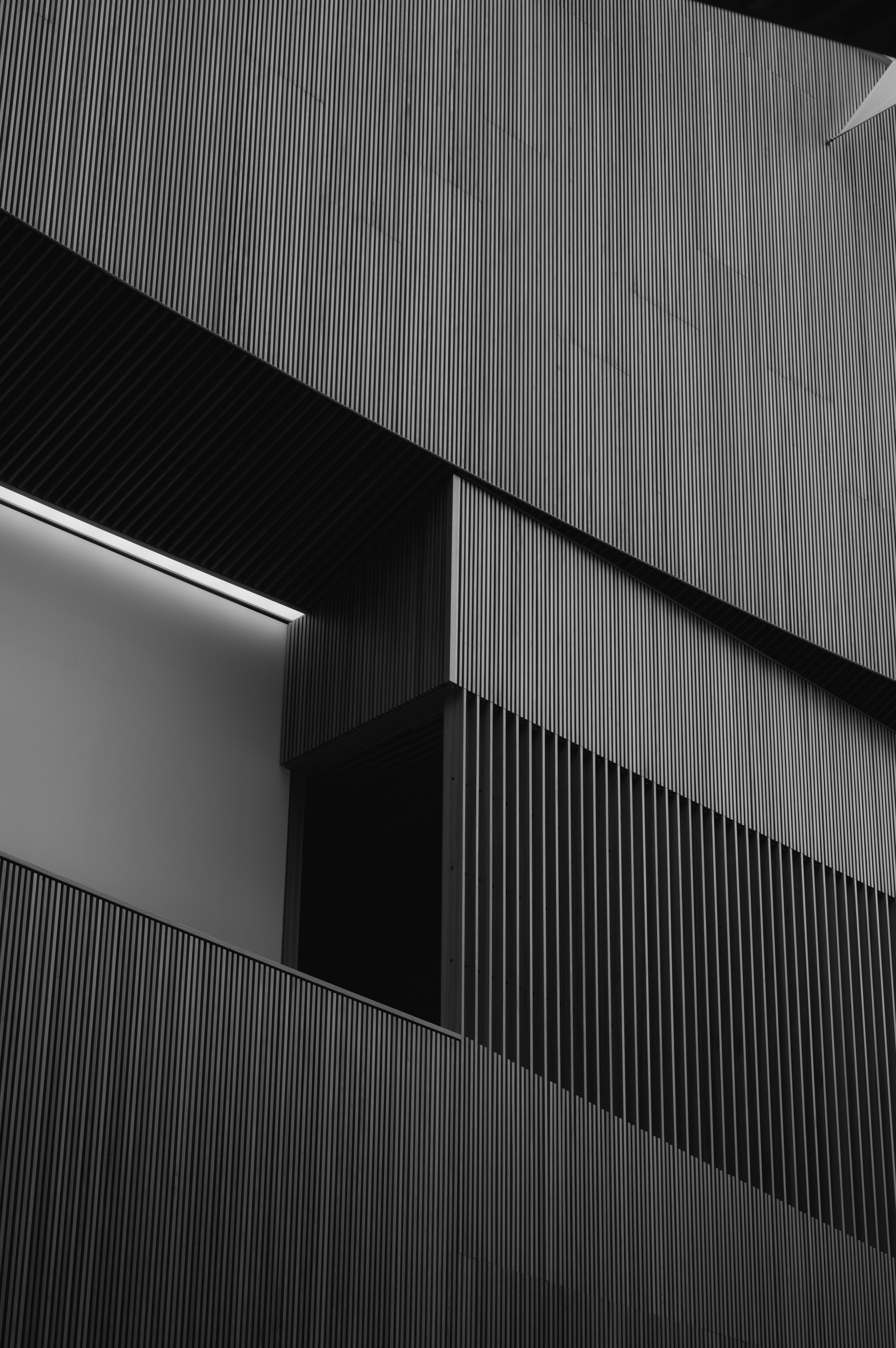53687 baixar papel de parede Miscelânea, Variado, Prédio, Edifício, Listras, Estrias, Preto E Branco, Preto-E-Branco, Bw, Chb, Arquitetura - protetores de tela e imagens gratuitamente