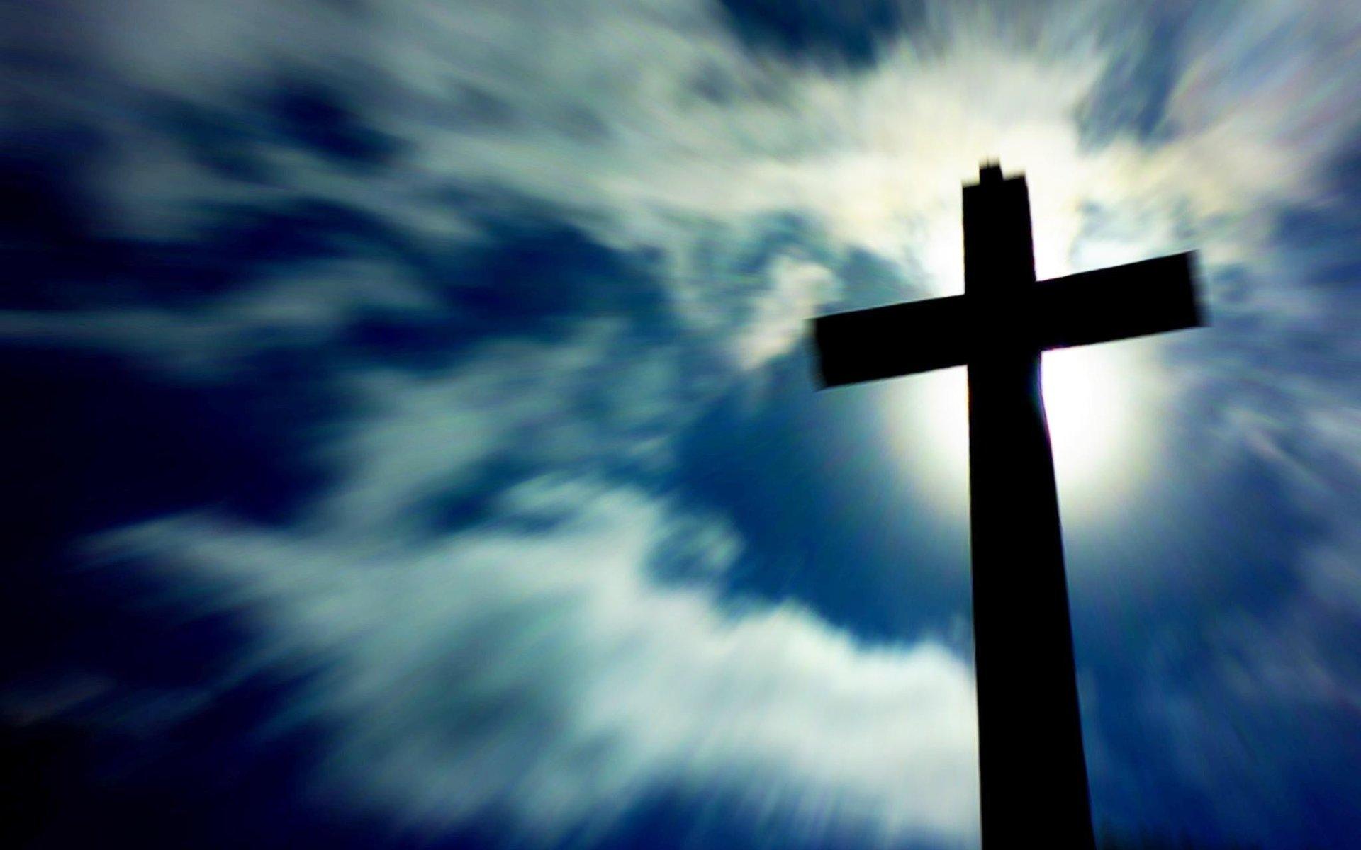 22754 скачать обои Пейзаж, Небо, Облака, Кресты - заставки и картинки бесплатно