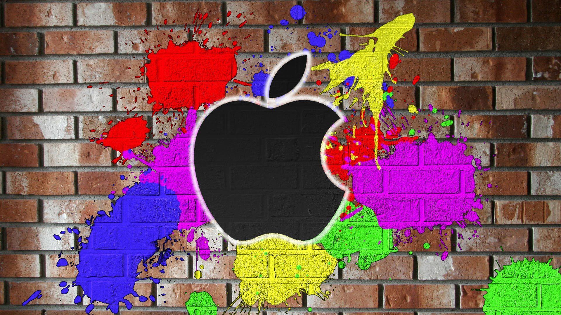 40565 Hintergrundbild herunterladen Apple-, Marken, Logos - Bildschirmschoner und Bilder kostenlos