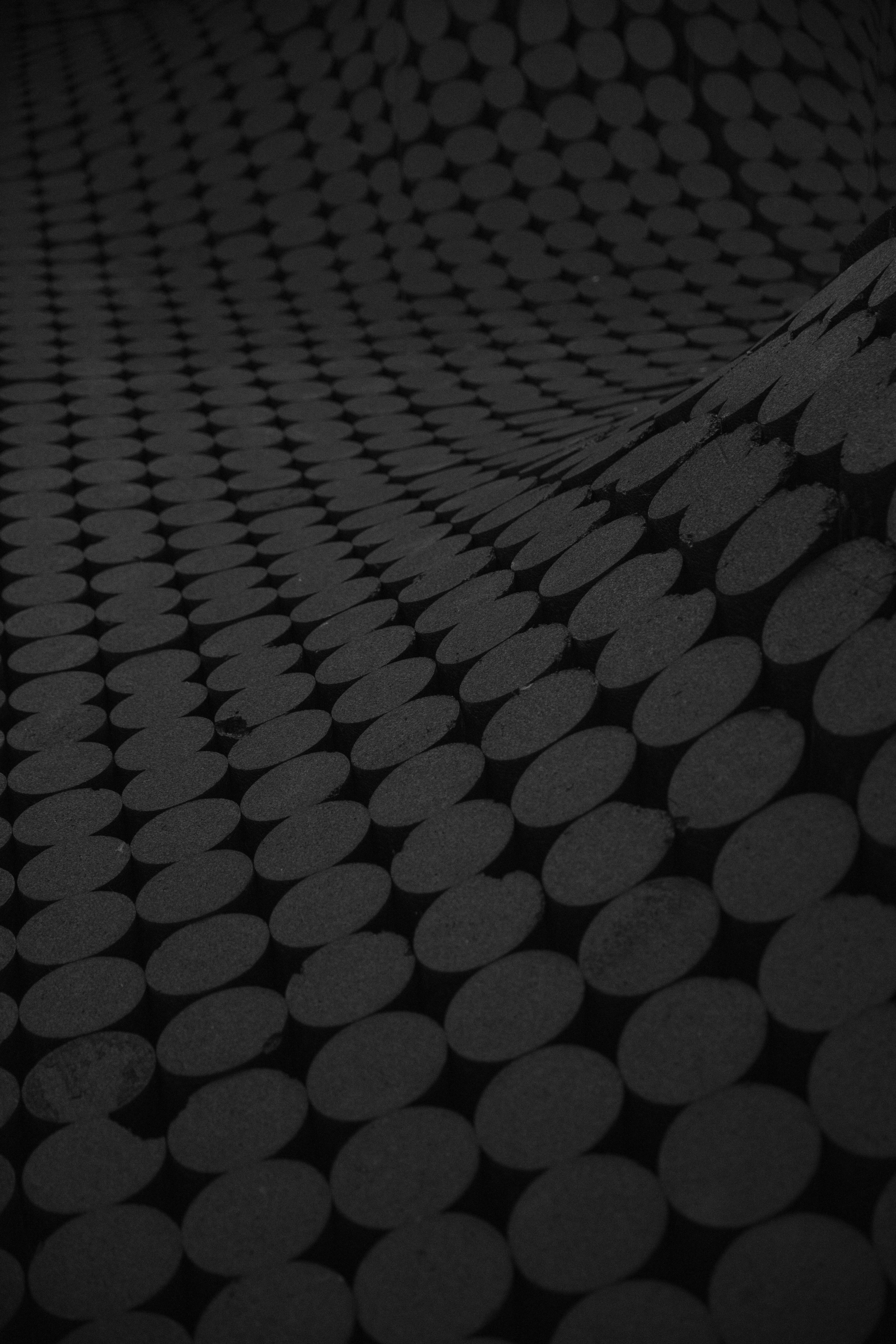 113455 télécharger le fond d'écran Textures, Texture, Cercles, Surface, Le Noir, Ondulé - économiseurs d'écran et images gratuitement