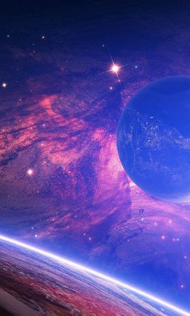 71079壁紙のダウンロード惑星, 輝く, 光, 汚れ, ぼつぼつ, 宇宙-スクリーンセーバーと写真を無料で
