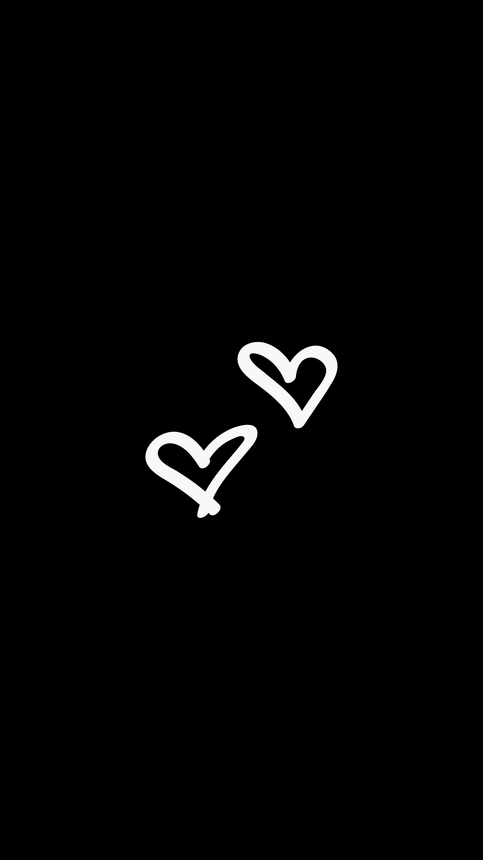 90248 Hintergrundbild herunterladen Herzen, Liebe, Minimalismus, Bw, Chb - Bildschirmschoner und Bilder kostenlos