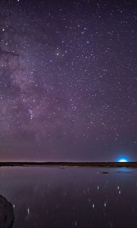 65611 baixar papel de parede Céu Estrelado, Noite, Roxo, Violeta, Estrelas, Universo - protetores de tela e imagens gratuitamente