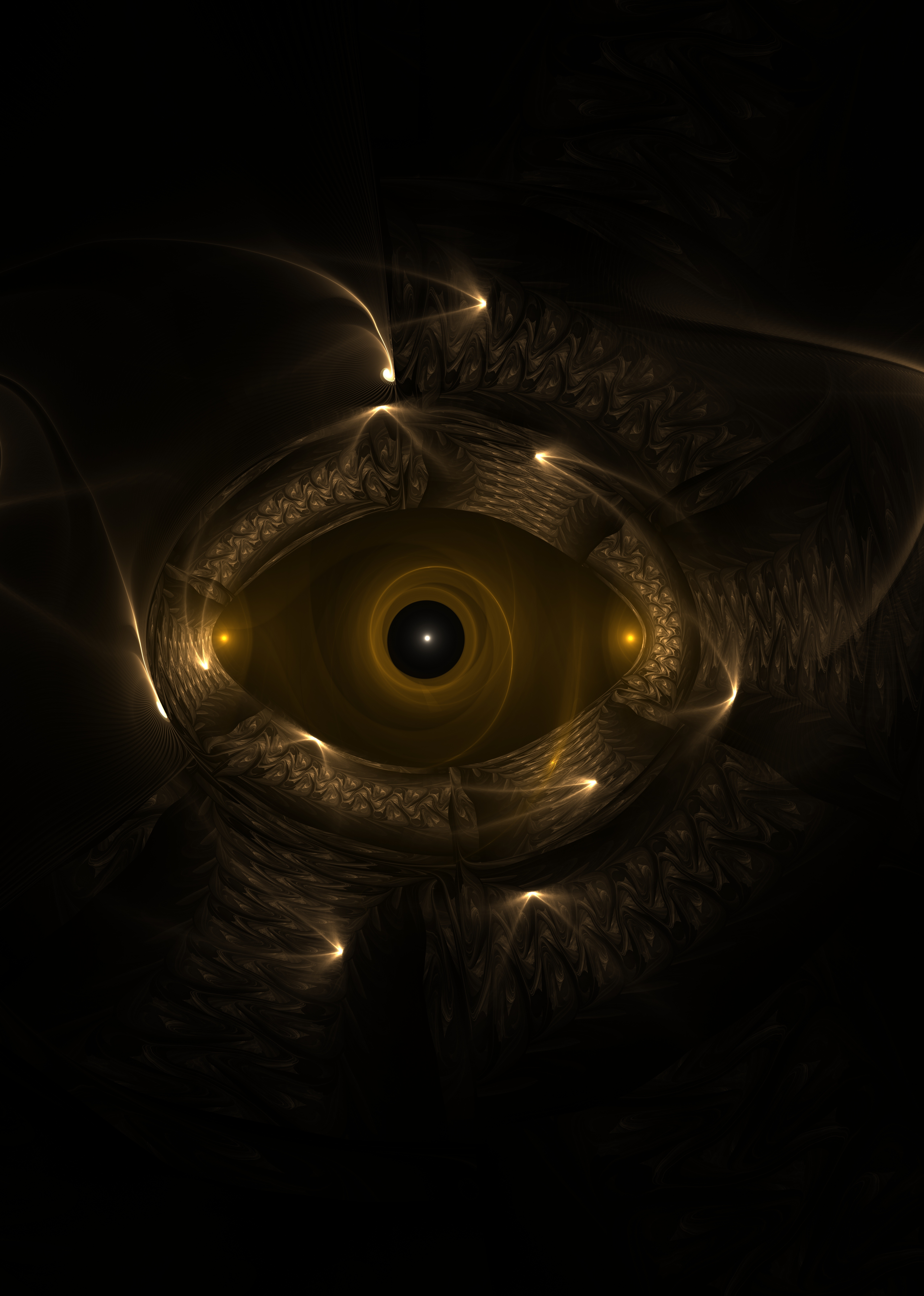 139466 download wallpaper Abstract, Fractal, Eye, Form, Patterns screensavers and pictures for free