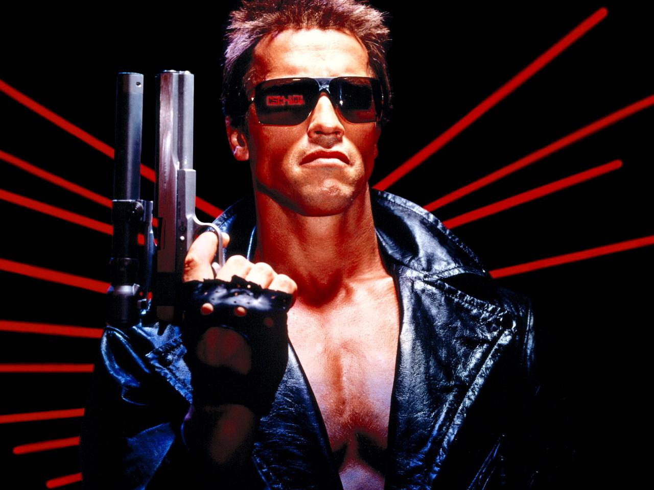 15738 download wallpaper Cinema, People, Actors, Men, Arnold Schwarzenegger, Terminator screensavers and pictures for free