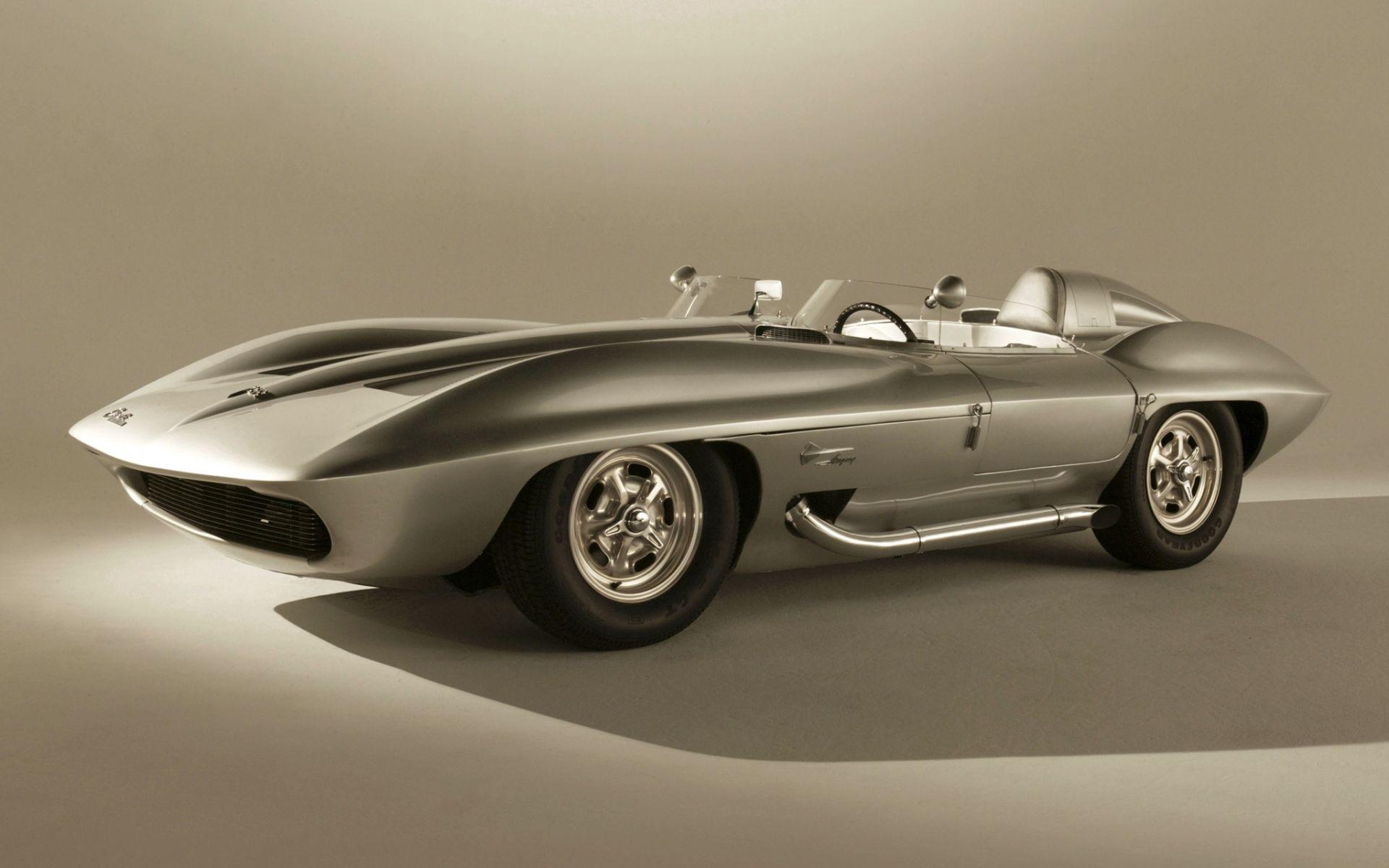 129773 скачать обои 1959, Шевроле (Chevrolet), Тачки (Cars), Corvette, Stingray, Concept Car - заставки и картинки бесплатно