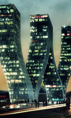 20793 baixar papel de parede Paisagem, Cidades, Noite, Arquitetura - protetores de tela e imagens gratuitamente