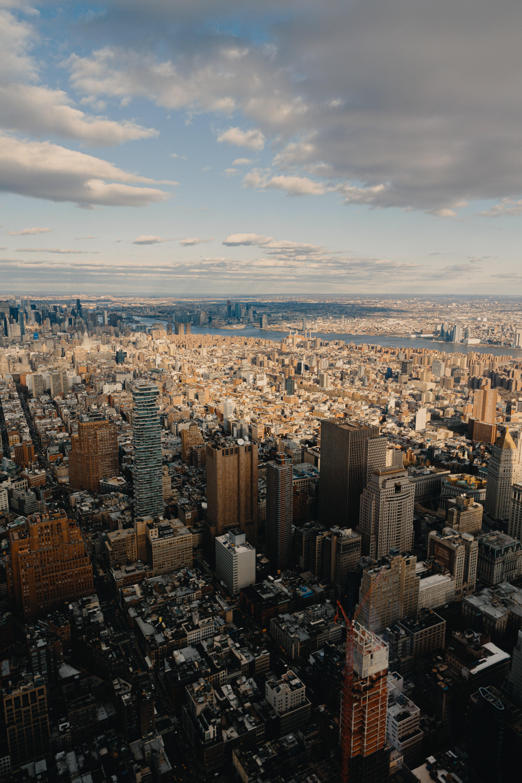 157689 免費下載壁紙 城市, 大都市, 从上面看, 顶视图, 建造, 建筑物, 纽约 屏保和圖片