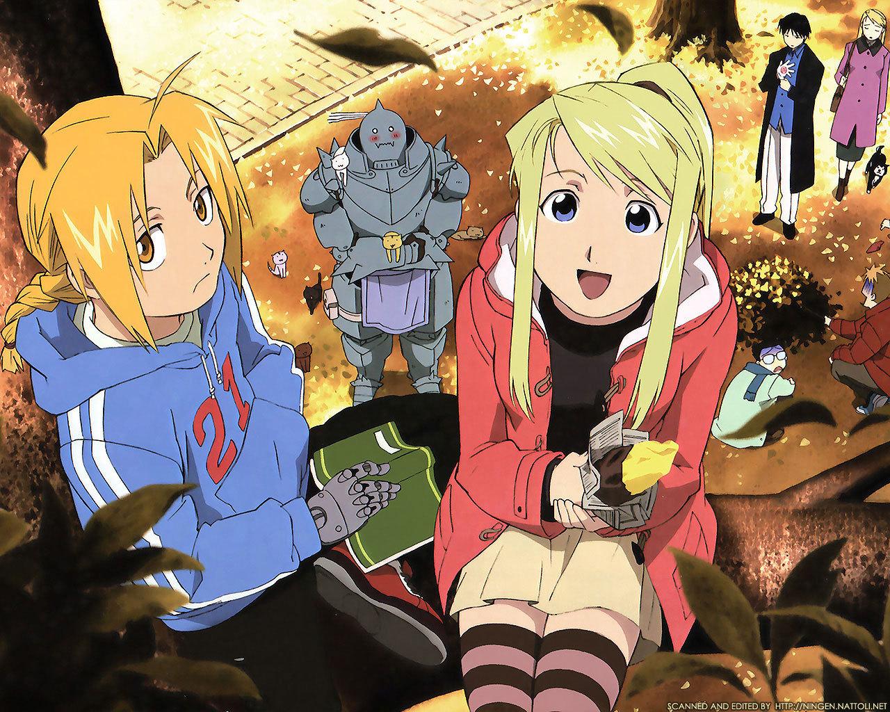 20881 Hintergrundbild herunterladen Cartoon, Anime, Fullmetal Alchemist - Bildschirmschoner und Bilder kostenlos