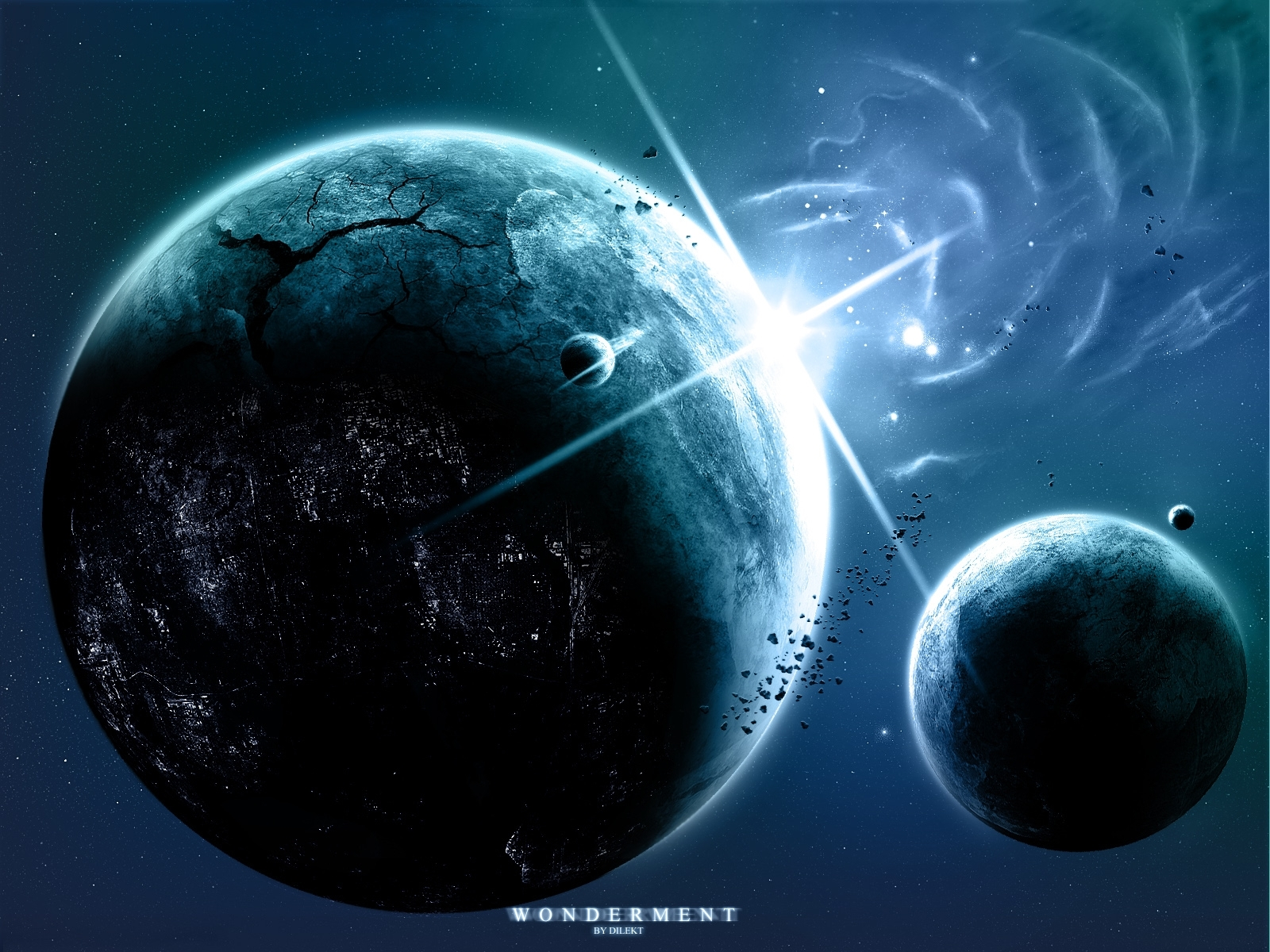 748 download wallpaper Landscape, Planets, Universe screensavers and pictures for free