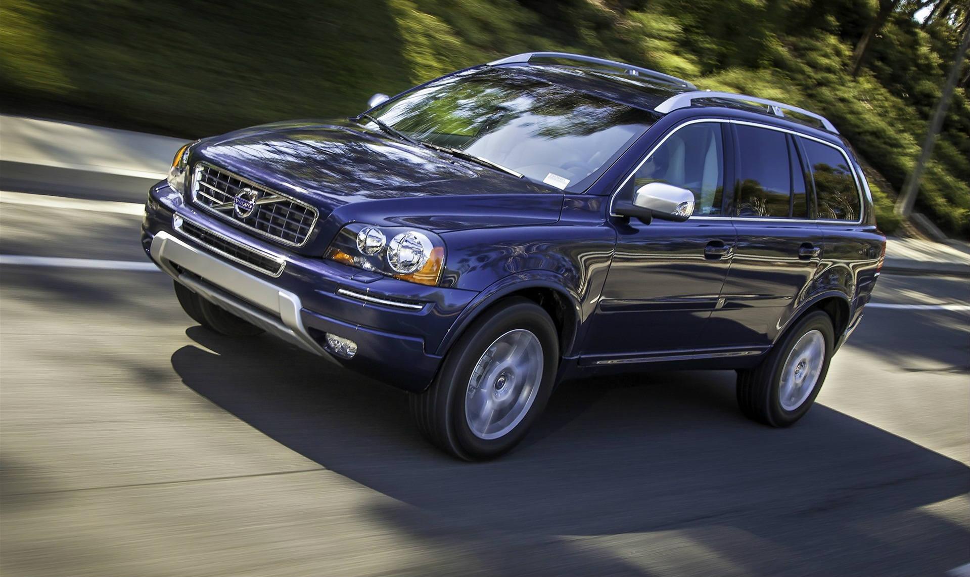 105681 скачать обои Вольво (Volvo), Тачки (Cars), Вид Сбоку, 2015, Volvo Xc90 Ii - заставки и картинки бесплатно