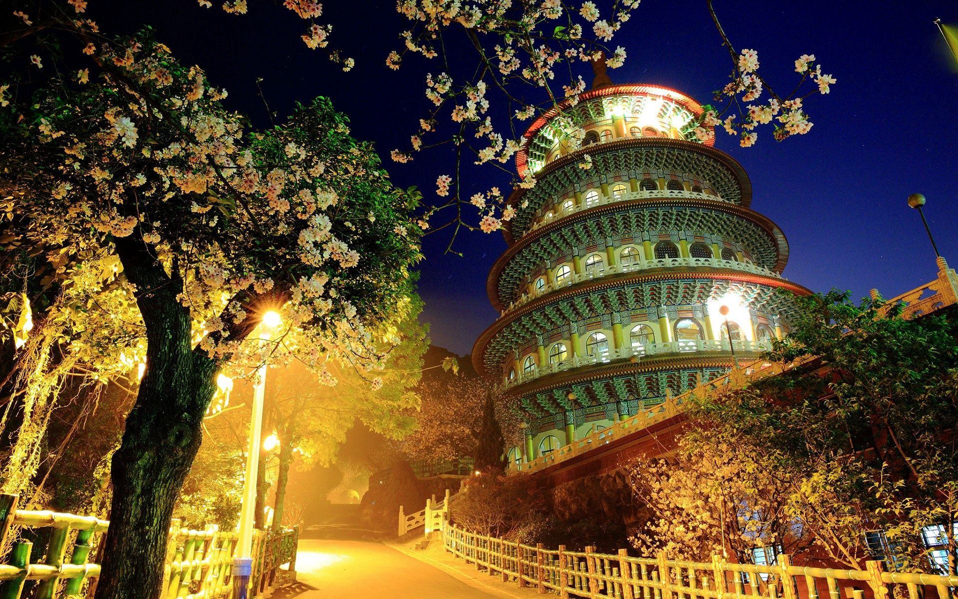 78210 free wallpaper 1080x2400 for phone, download images Cities, Trees, Building, Evening, China 1080x2400 for mobile