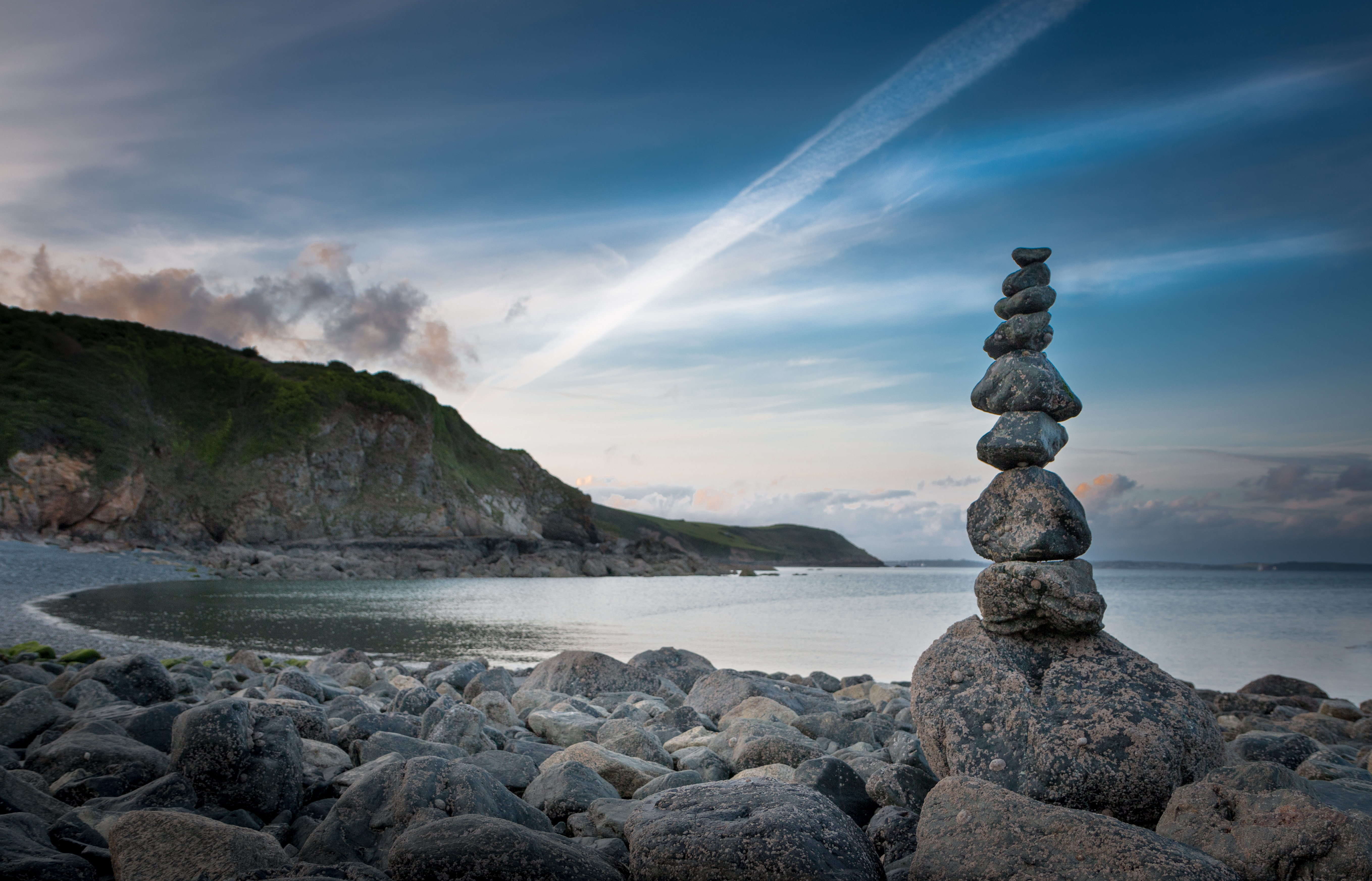 109302 download wallpaper Nature, Stones, Sky, Balance, Lumps, Blocks screensavers and pictures for free