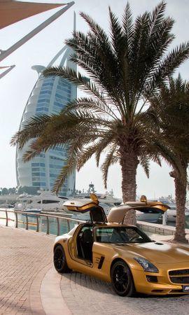 11162 descargar fondo de pantalla Transporte, Automóvil, Mercedes, Palms: protectores de pantalla e imágenes gratis