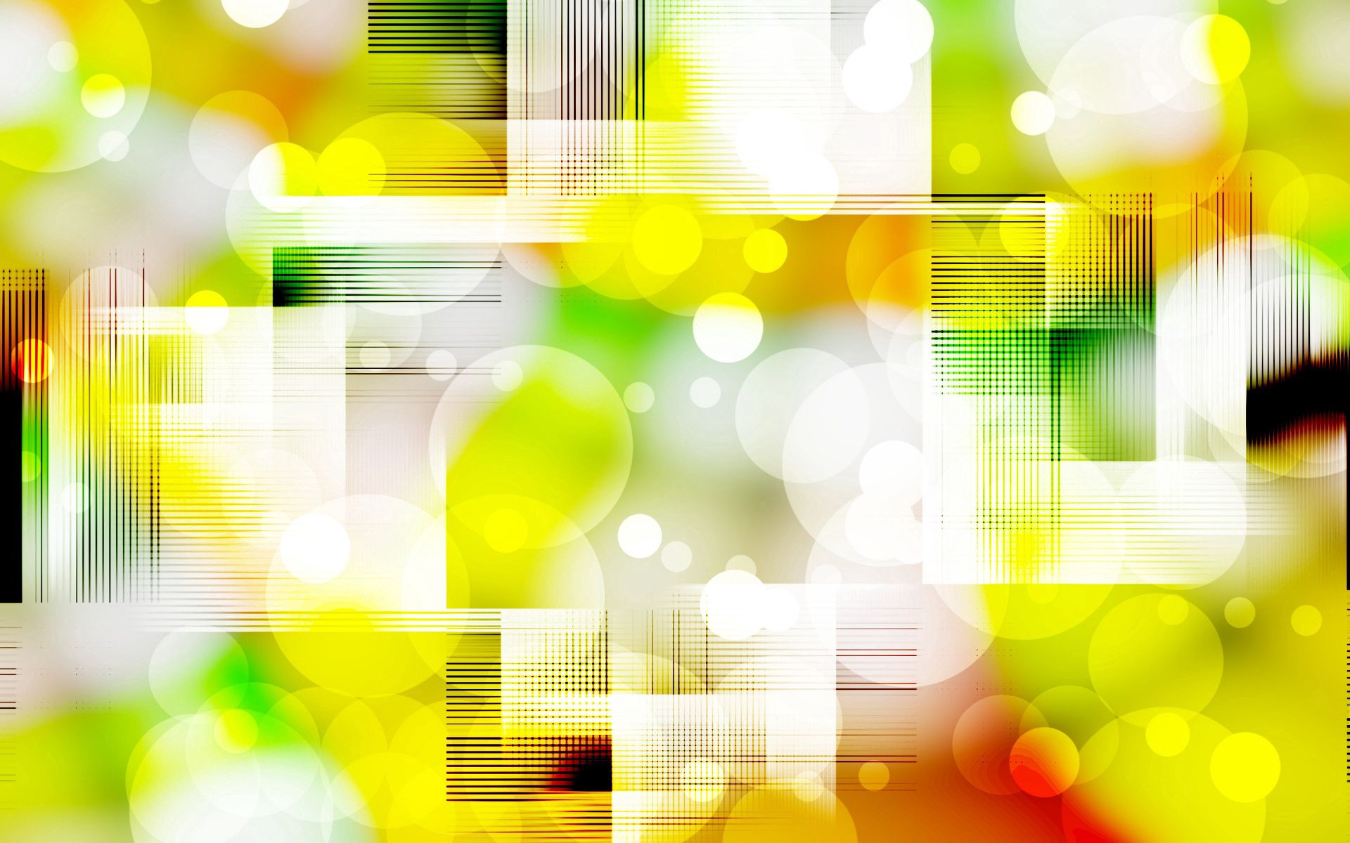 87801 Hintergrundbild herunterladen Kreise, Abstrakt, Blendung, Hell, Farbe, Quadrate - Bildschirmschoner und Bilder kostenlos
