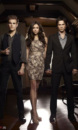 14146 download wallpaper Cinema, Actors, Vampire Diaries screensavers and pictures for free