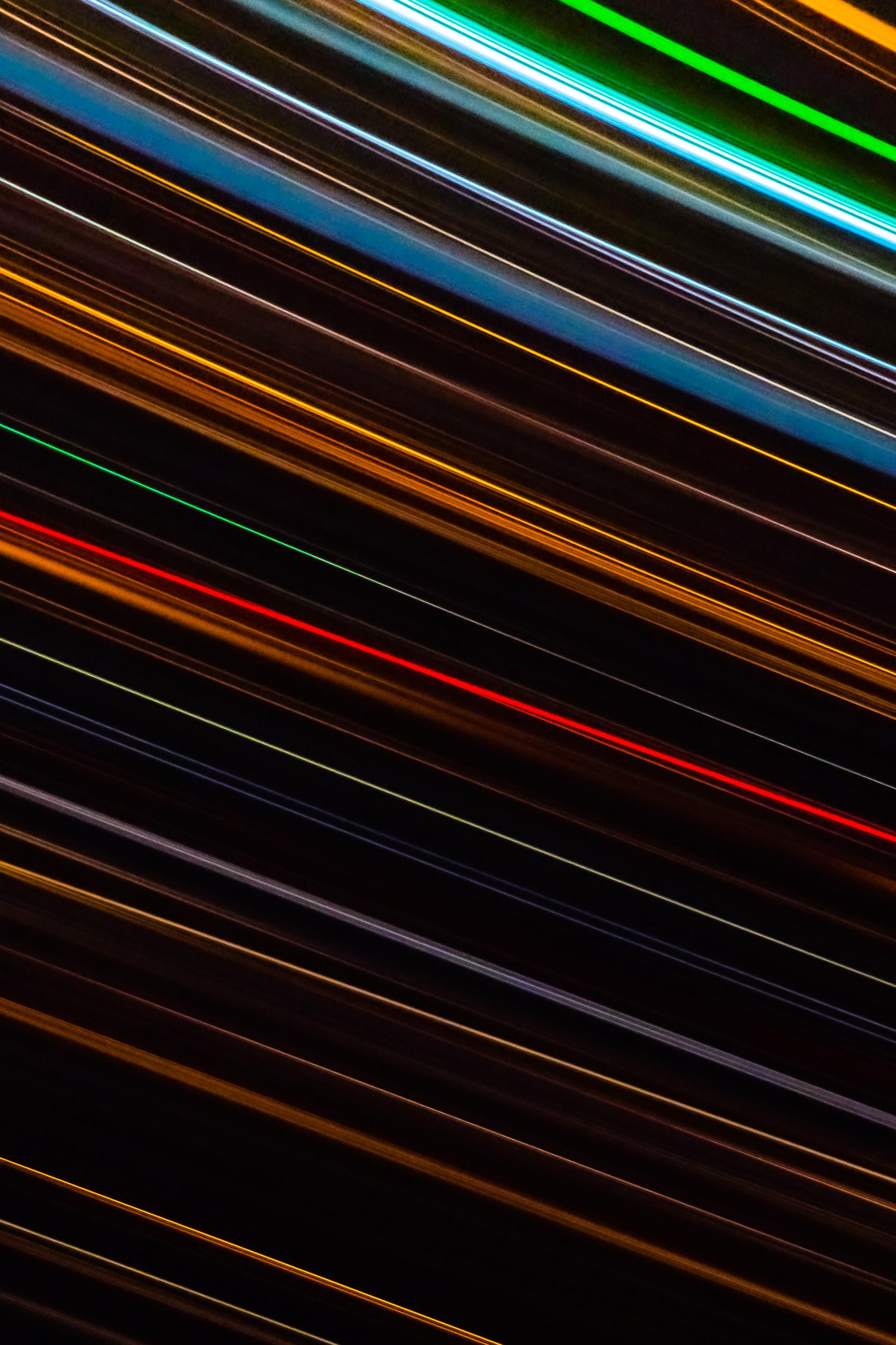 146745壁紙のダウンロード抽象, 線, 台詞, ストライプ, 縞, 色とりどり, モトリー, 輝く, 光-スクリーンセーバーと写真を無料で