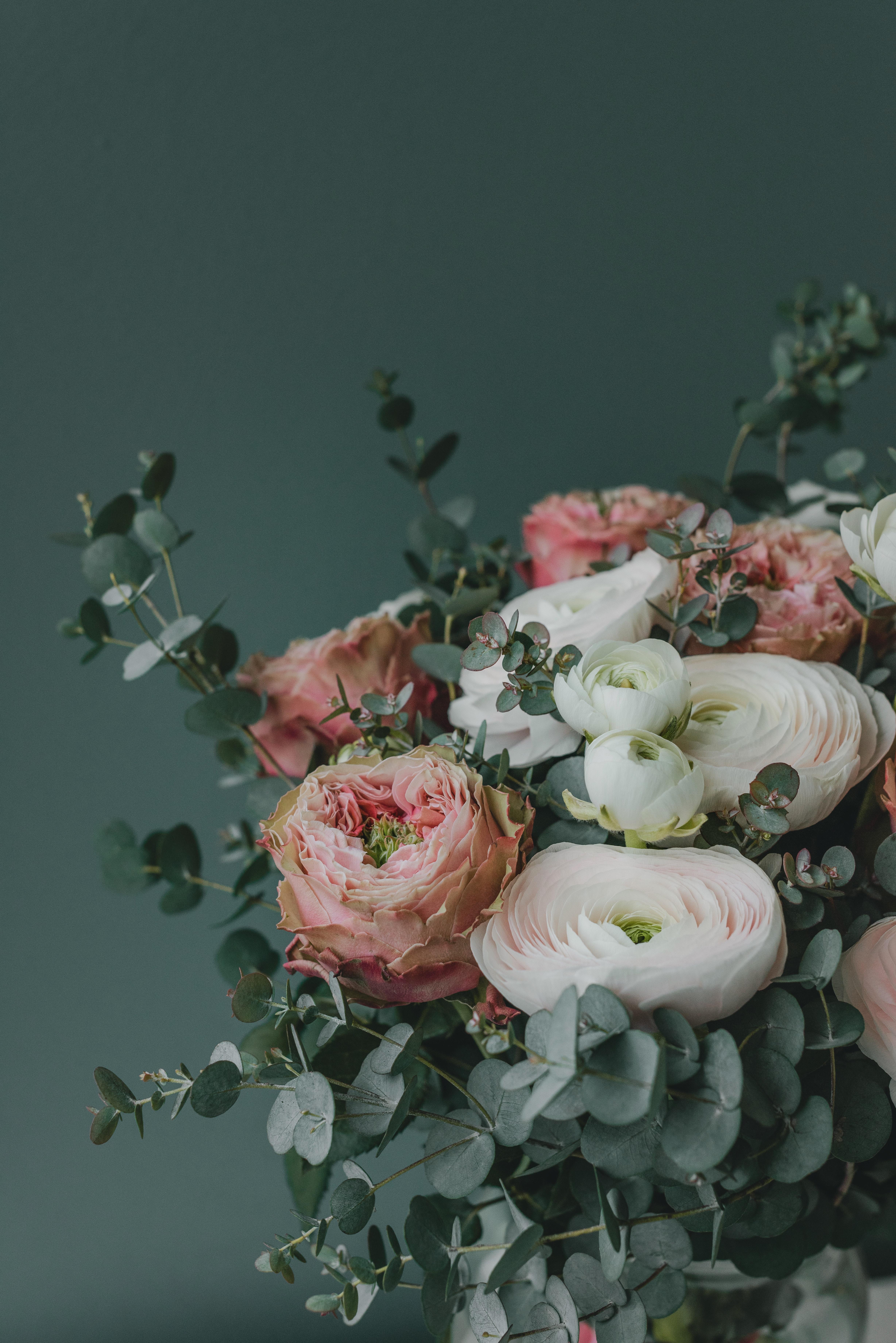 153435 Hintergrundbild herunterladen Blumen, Anmeldung, Typografie, Strauß, Bouquet, Komposition, Zusammensetzung - Bildschirmschoner und Bilder kostenlos