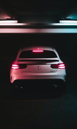 50705 télécharger le fond d'écran Voitures, Mercedes Benz Gle 350D, Mercedes, Vue Arrière, Phares, Lumières - économiseurs d'écran et images gratuitement