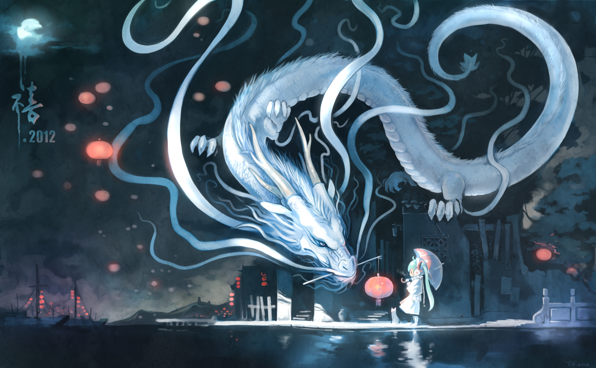 14264 Hintergrundbild herunterladen Cartoon, Anime, Dragons - Bildschirmschoner und Bilder kostenlos