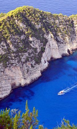 21256 скачать обои Пейзаж, Горы, Море, Лодки - заставки и картинки бесплатно