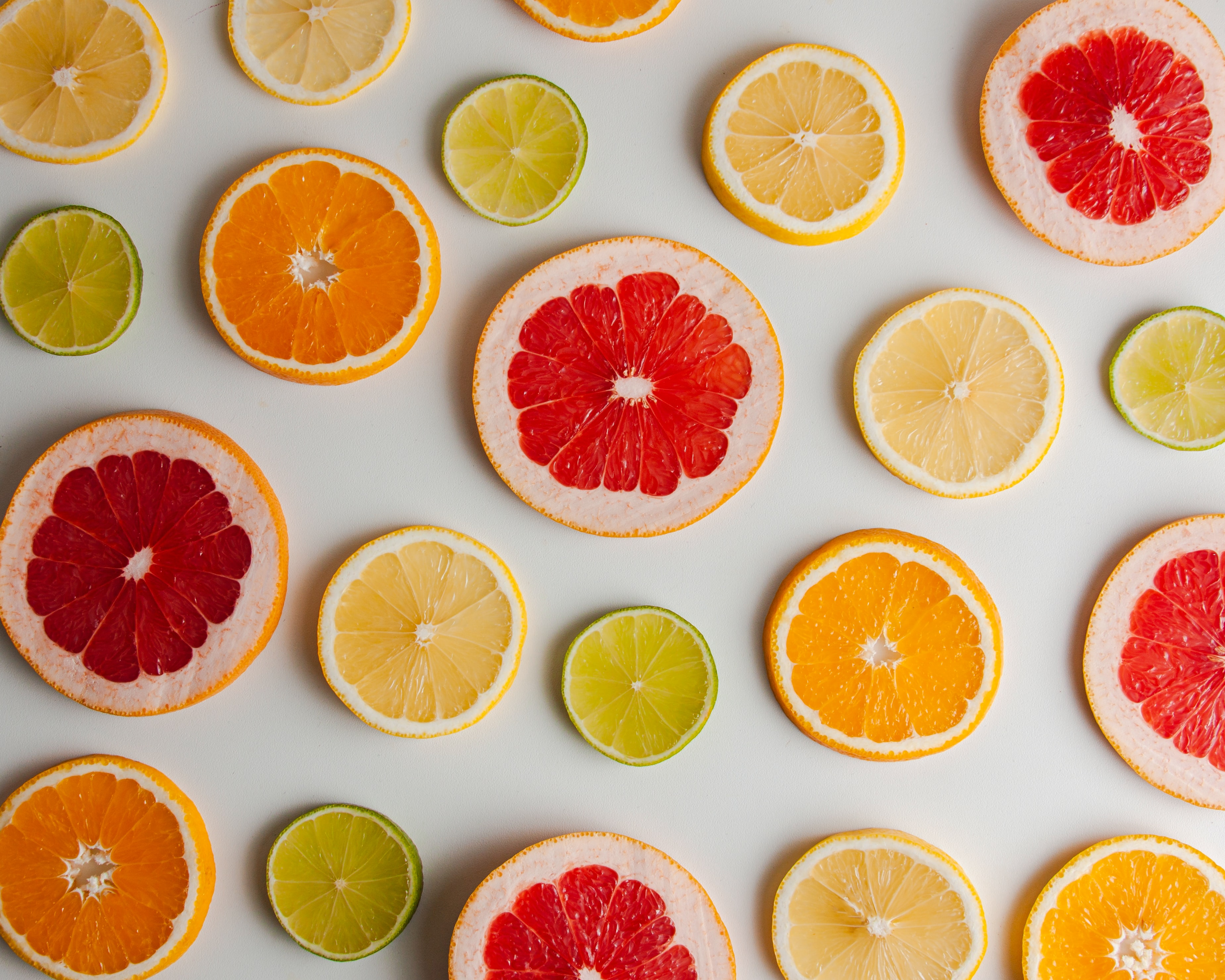 95529 download wallpaper Fruits, Food, Lime, Lemon, Lobules, Slices, Grapefruit screensavers and pictures for free