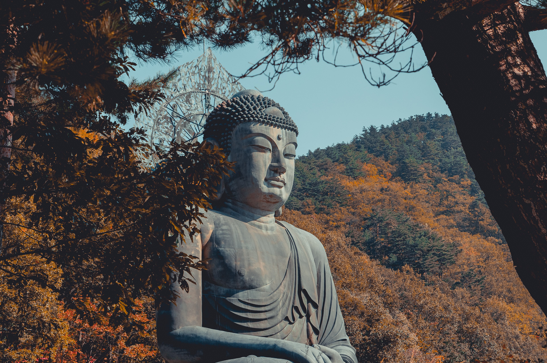 96091 скачать обои Разное, Будда, Буддизм, Скульптура, Бронза, Сораксан, Южная Корея - заставки и картинки бесплатно