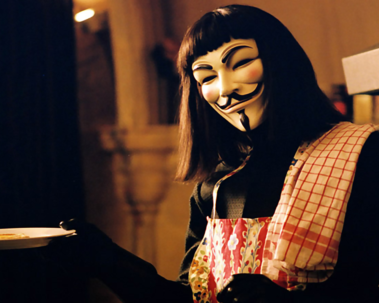 21017 download wallpaper Cinema, V For Vendetta screensavers and pictures for free