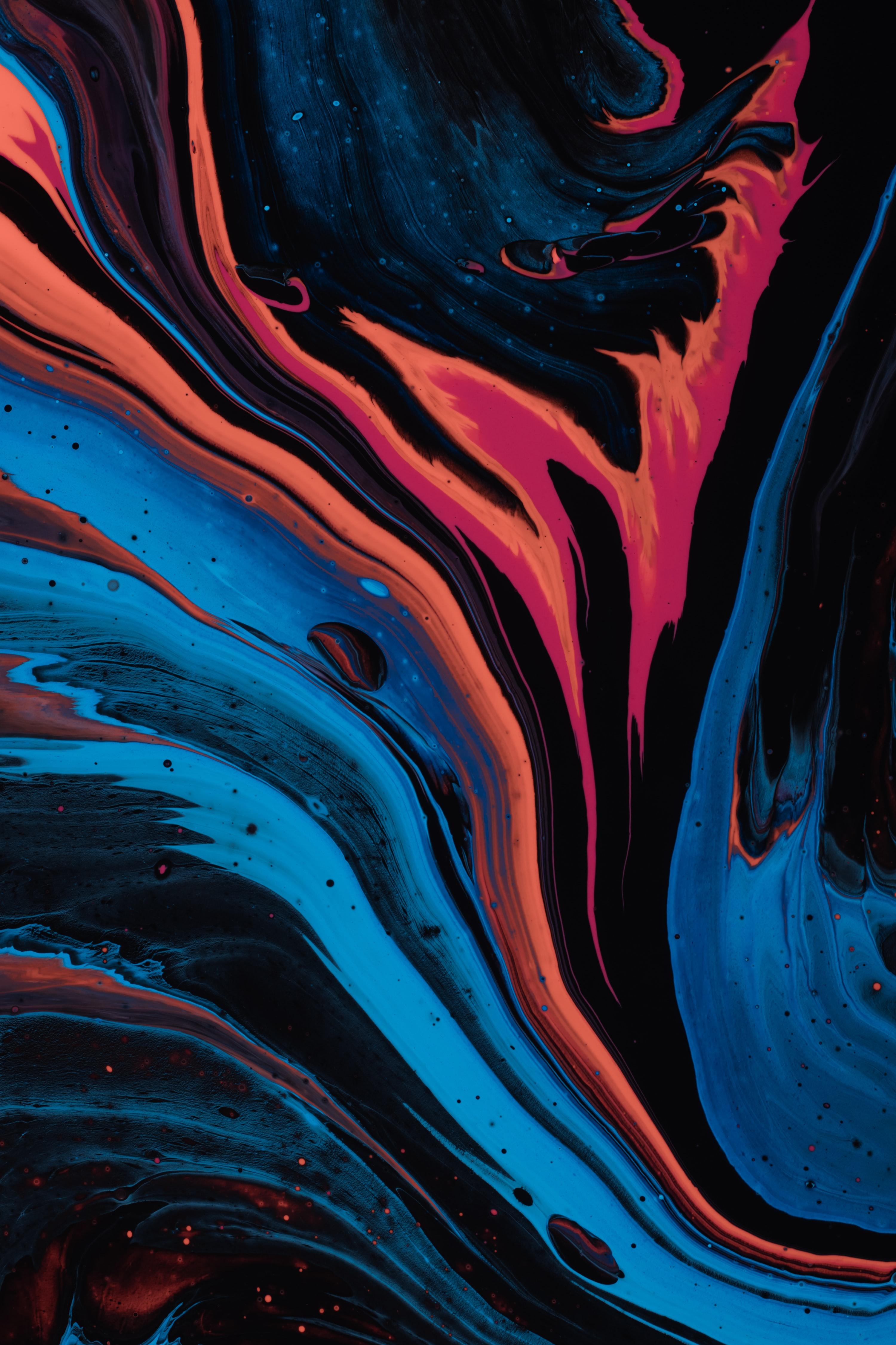 87844 免費下載壁紙 抽象, 离婚, 画, 油漆, 多彩多姿, 五颜六色, 液体 屏保和圖片
