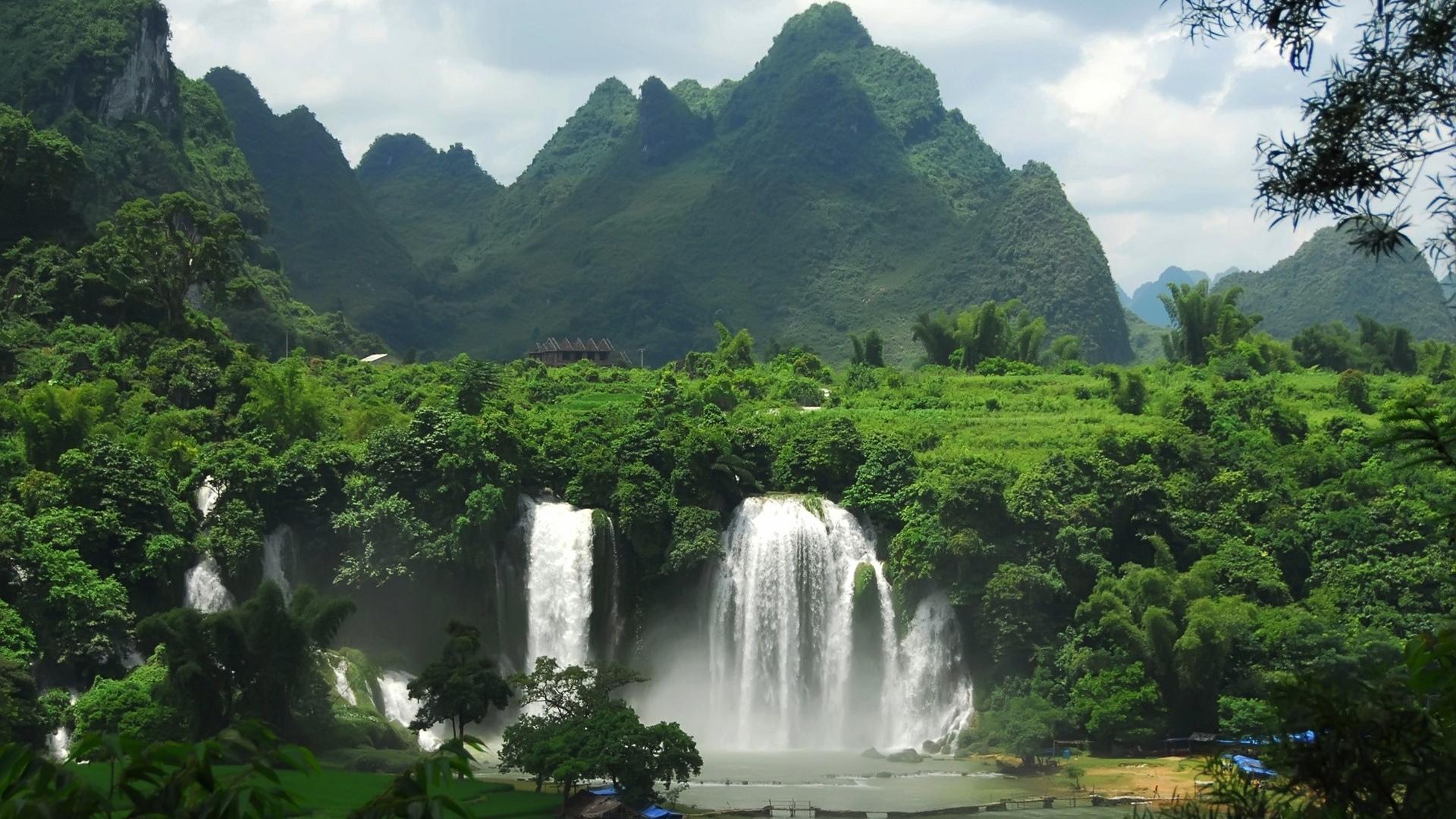 28521 скачать обои Пейзаж, Горы, Водопады - заставки и картинки бесплатно