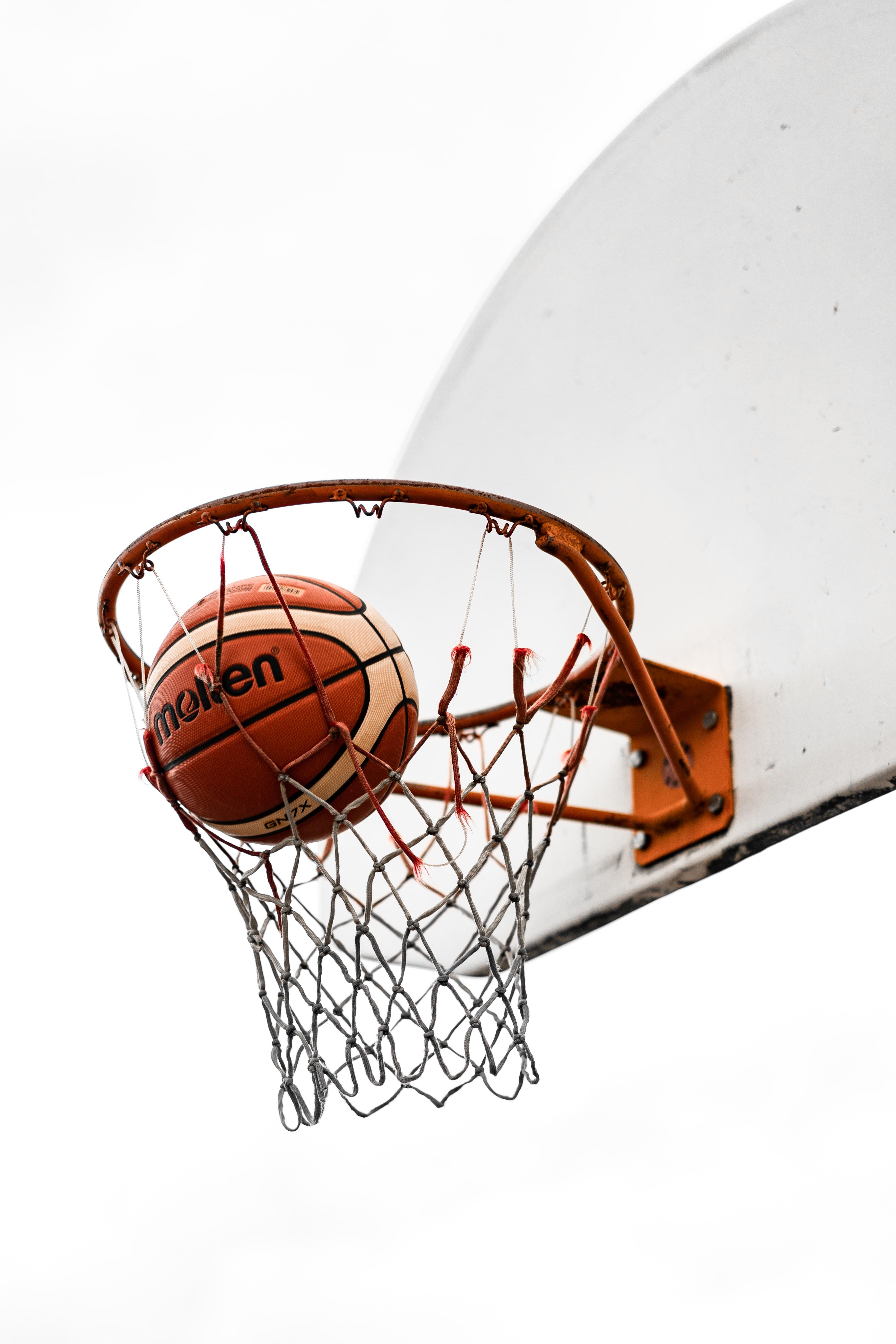 95503 скачать обои Спорт, Баскетбол, Мяч, Баскетбольная Сетка, Баскетбольное Кольцо, Щит - заставки и картинки бесплатно