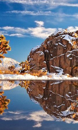 34161 скачать обои Пейзаж, Река, Горы - заставки и картинки бесплатно
