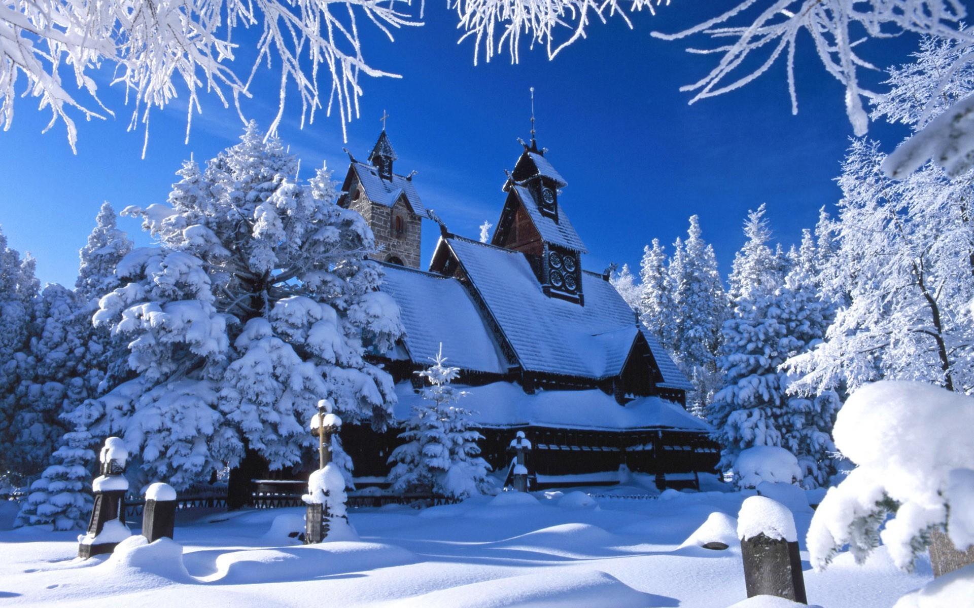 20652 скачать обои Пейзаж, Зима, Архитектура, Снег - заставки и картинки бесплатно